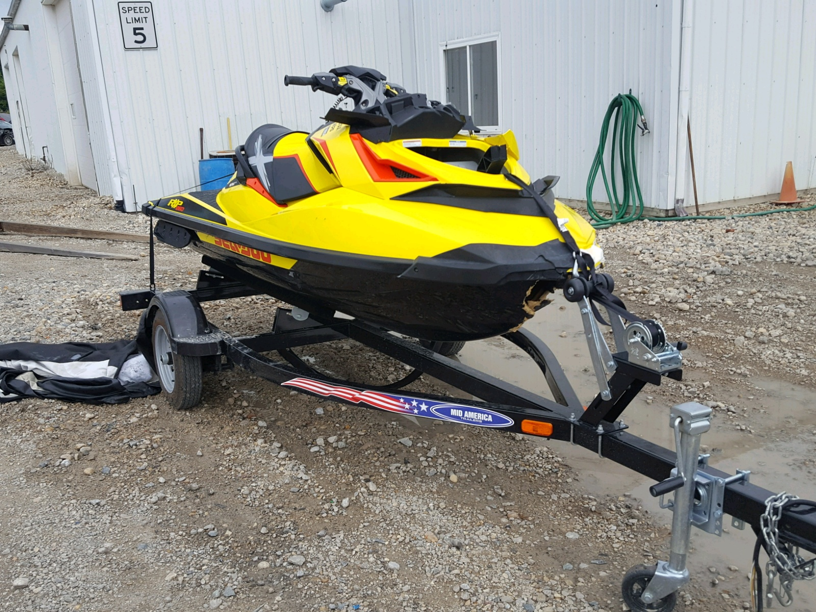 Salvage 2015 Seadoo RXP 260 for sale