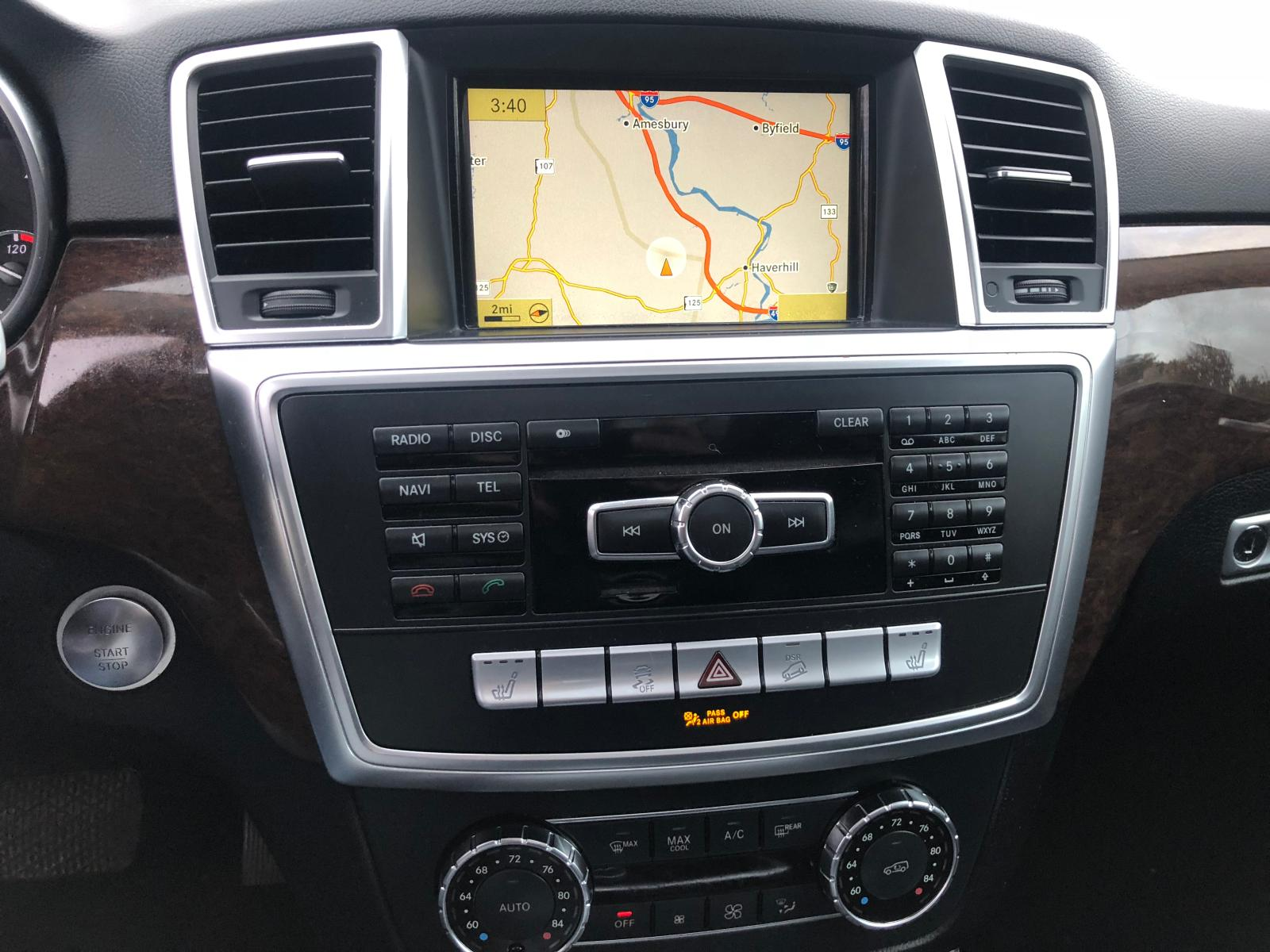 2012 Mercedes-Benz Ml 350 4Ma 3.5L engine view