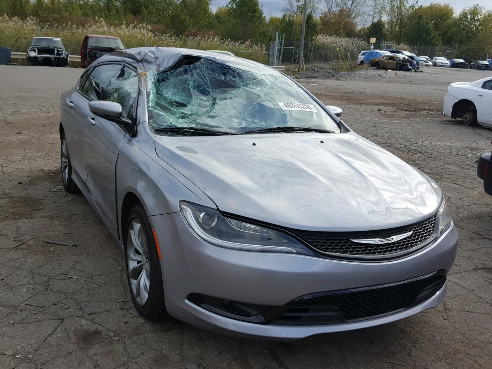 Salvage 2015 Chrysler 200 S for sale