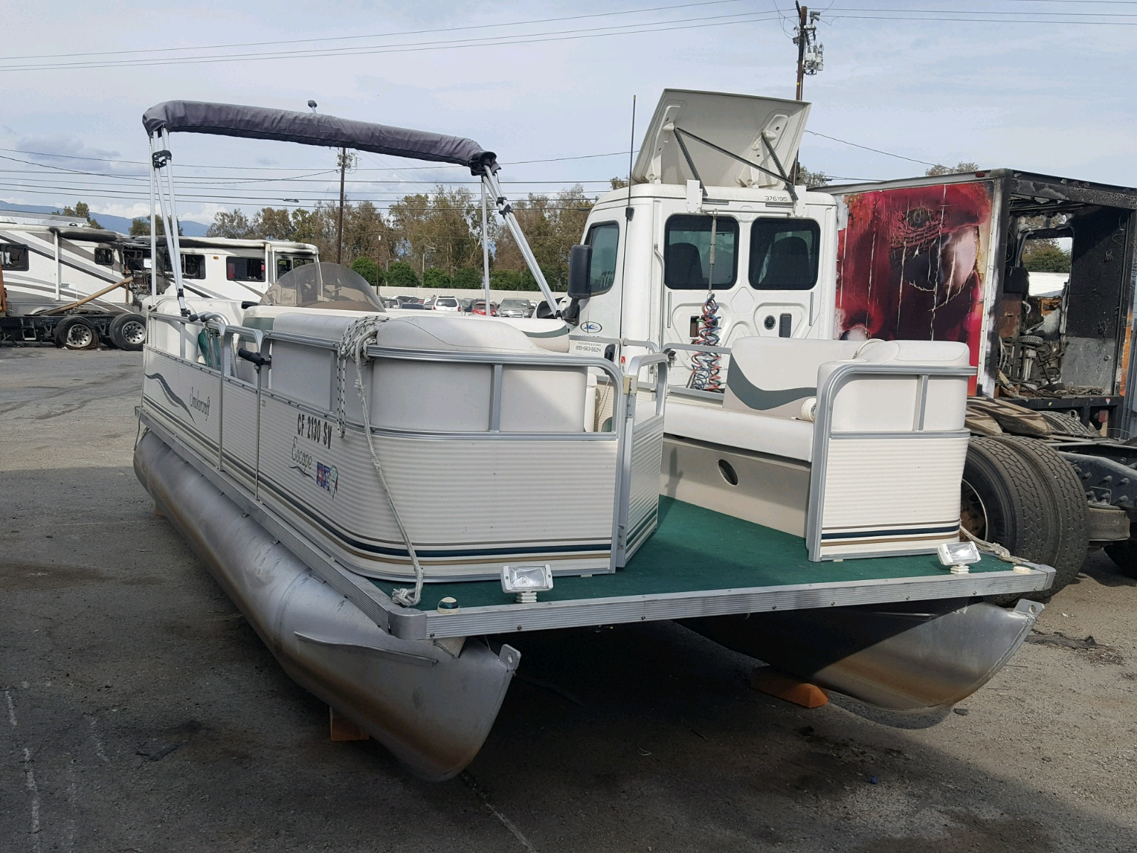 Salvage 2003 Smokercraft MARINE LOT for sale