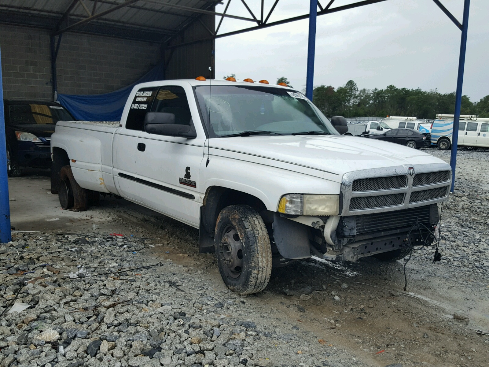 2001 Dodge Ram 3500 For Sale At Copart Cartersville Ga Lot 45595758 Extended Cab