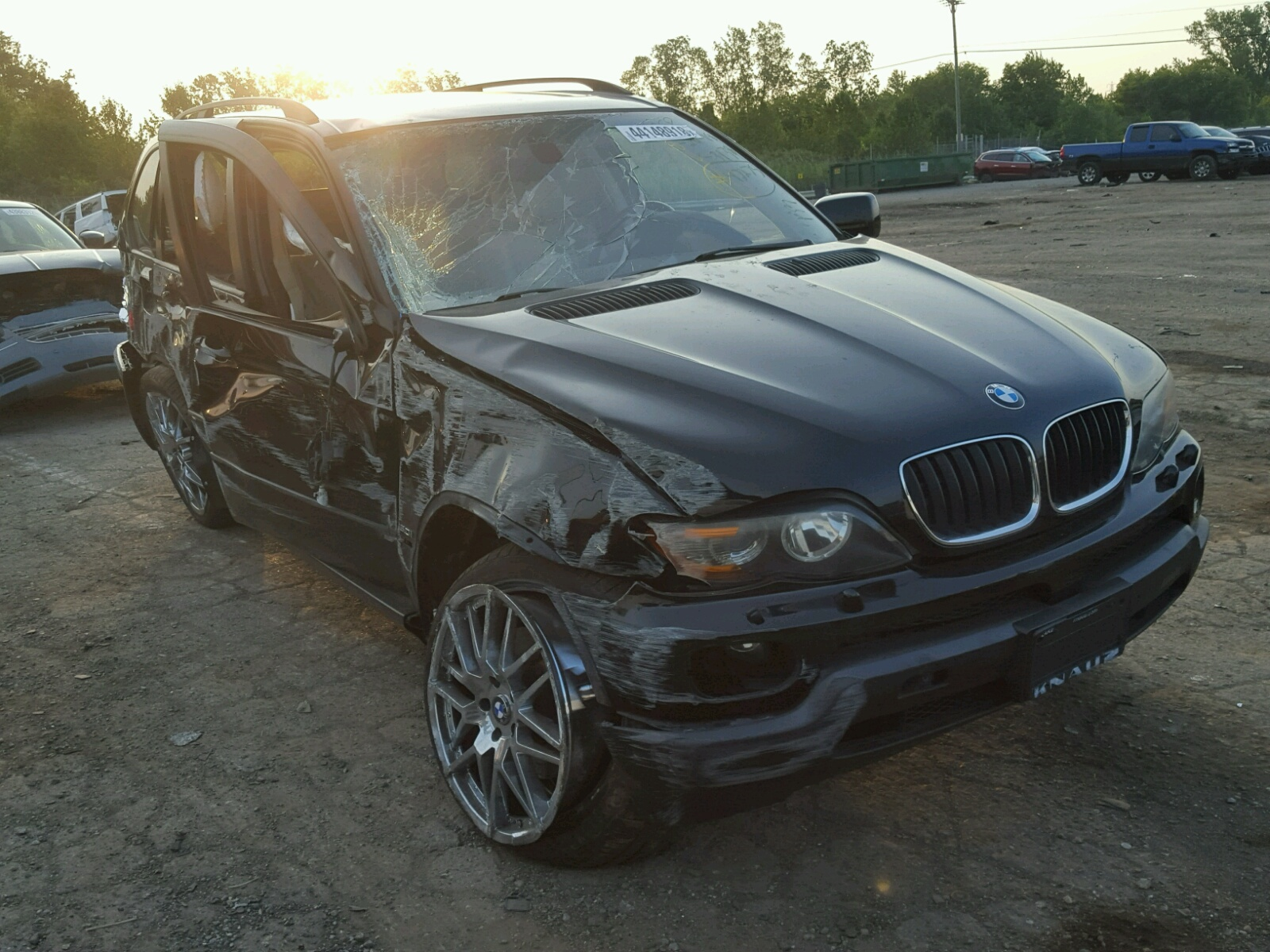 Salvage 2005 BMW X5 3.0I for sale