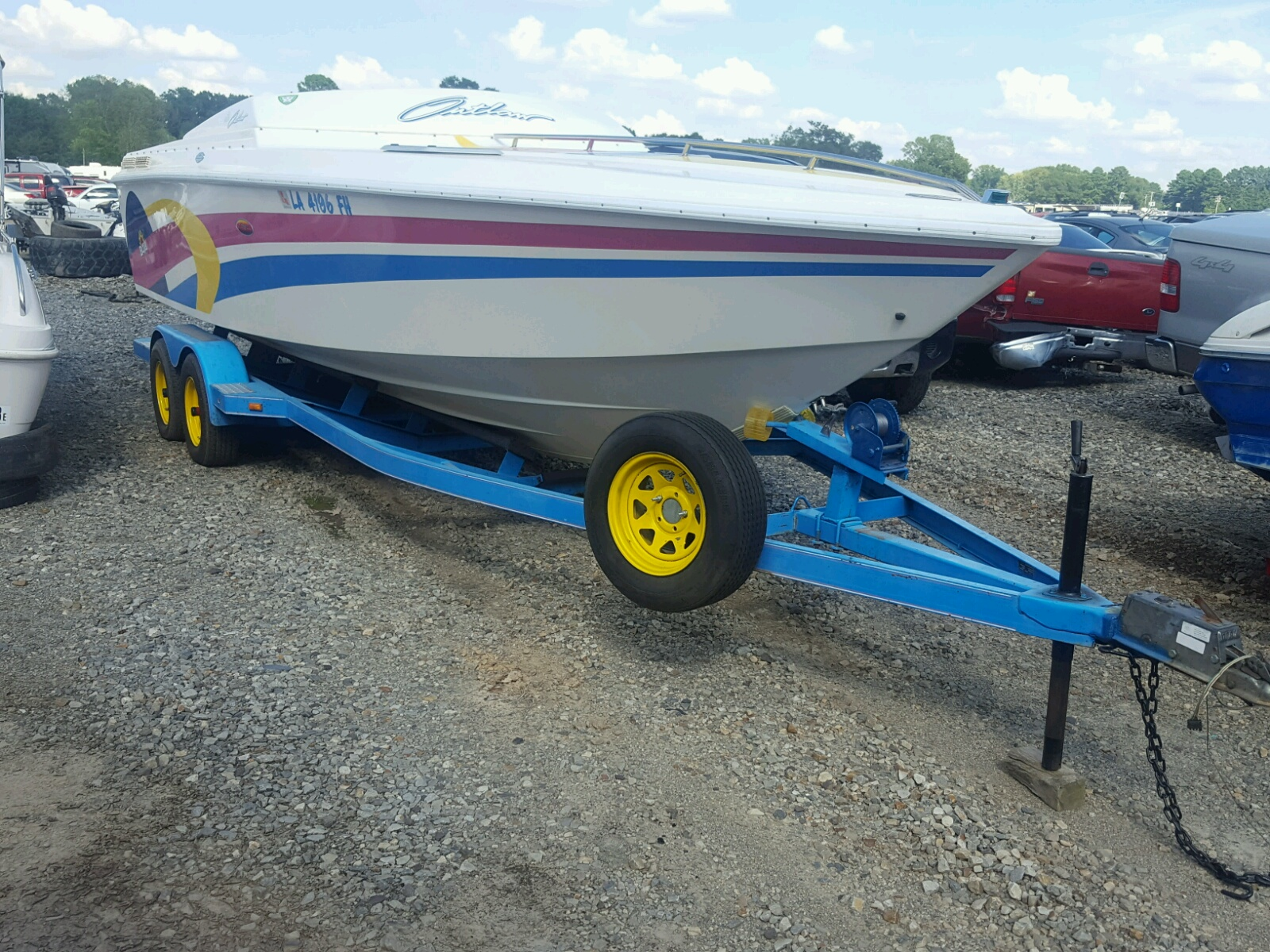 Salvage 1993 Baja BOAT for sale