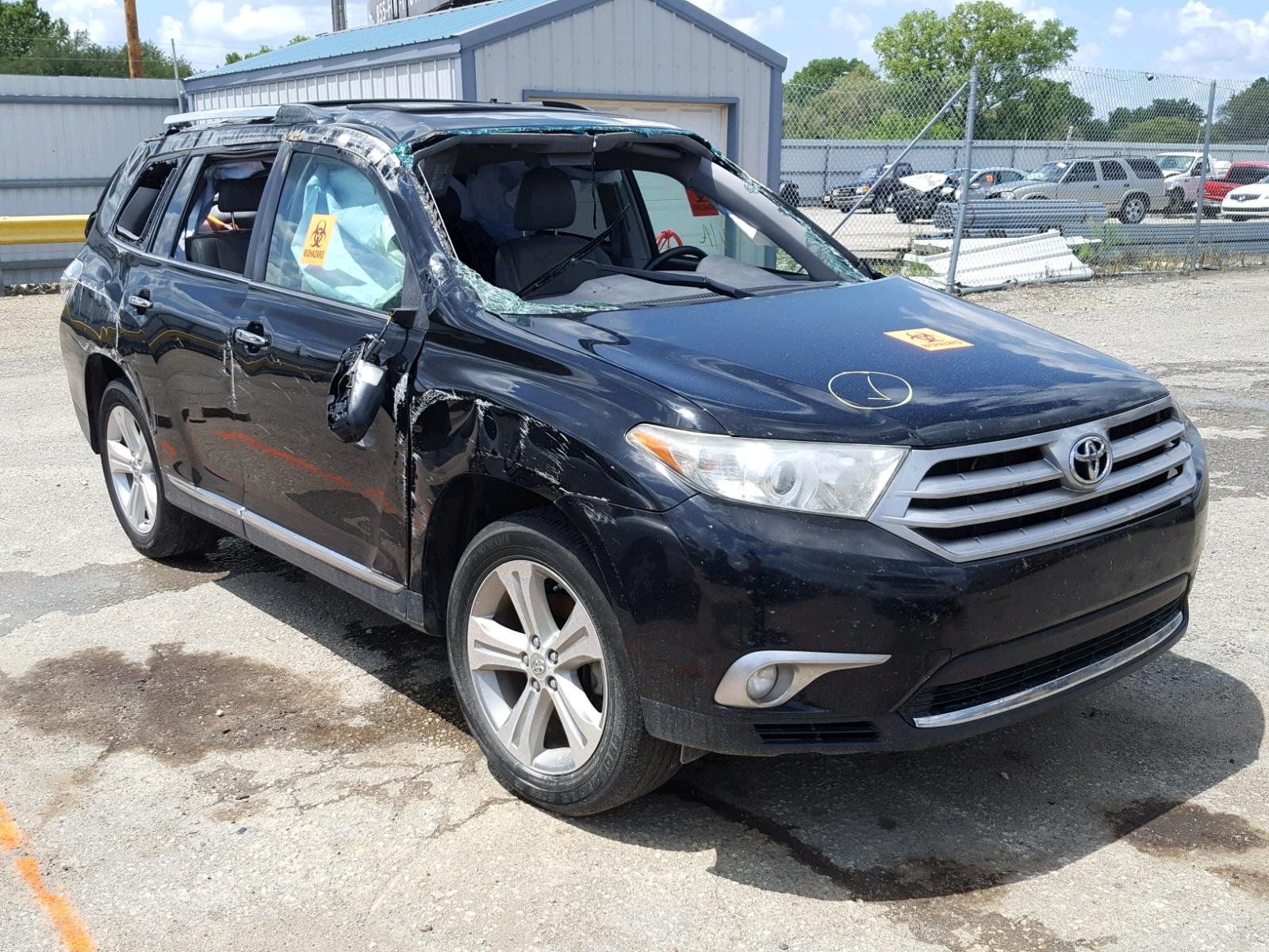 2013 Toyota Highlander for sale at Copart Wichita KS Lot