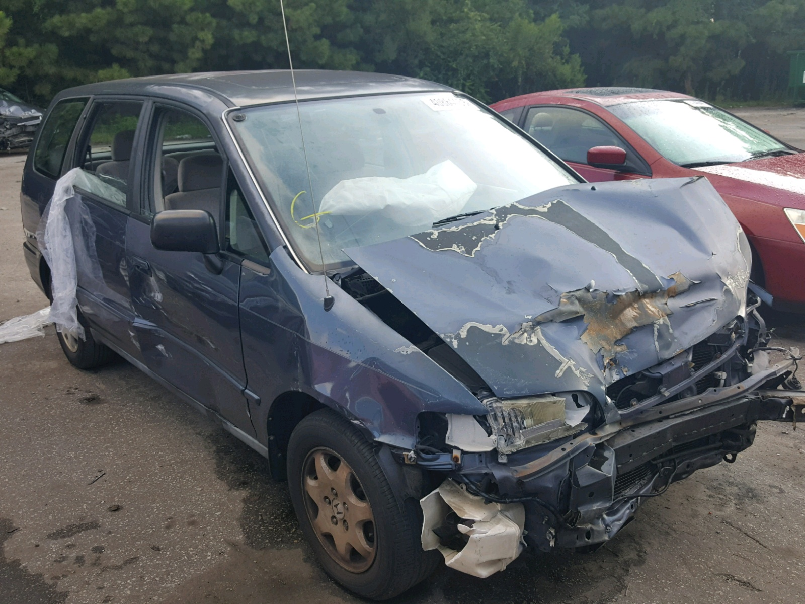 Salvage 1995 Honda ODYSSEY EX for sale