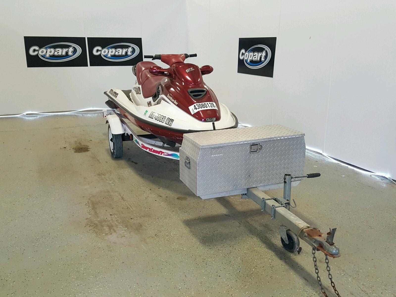 Salvage 1998 Seadoo GTX for sale