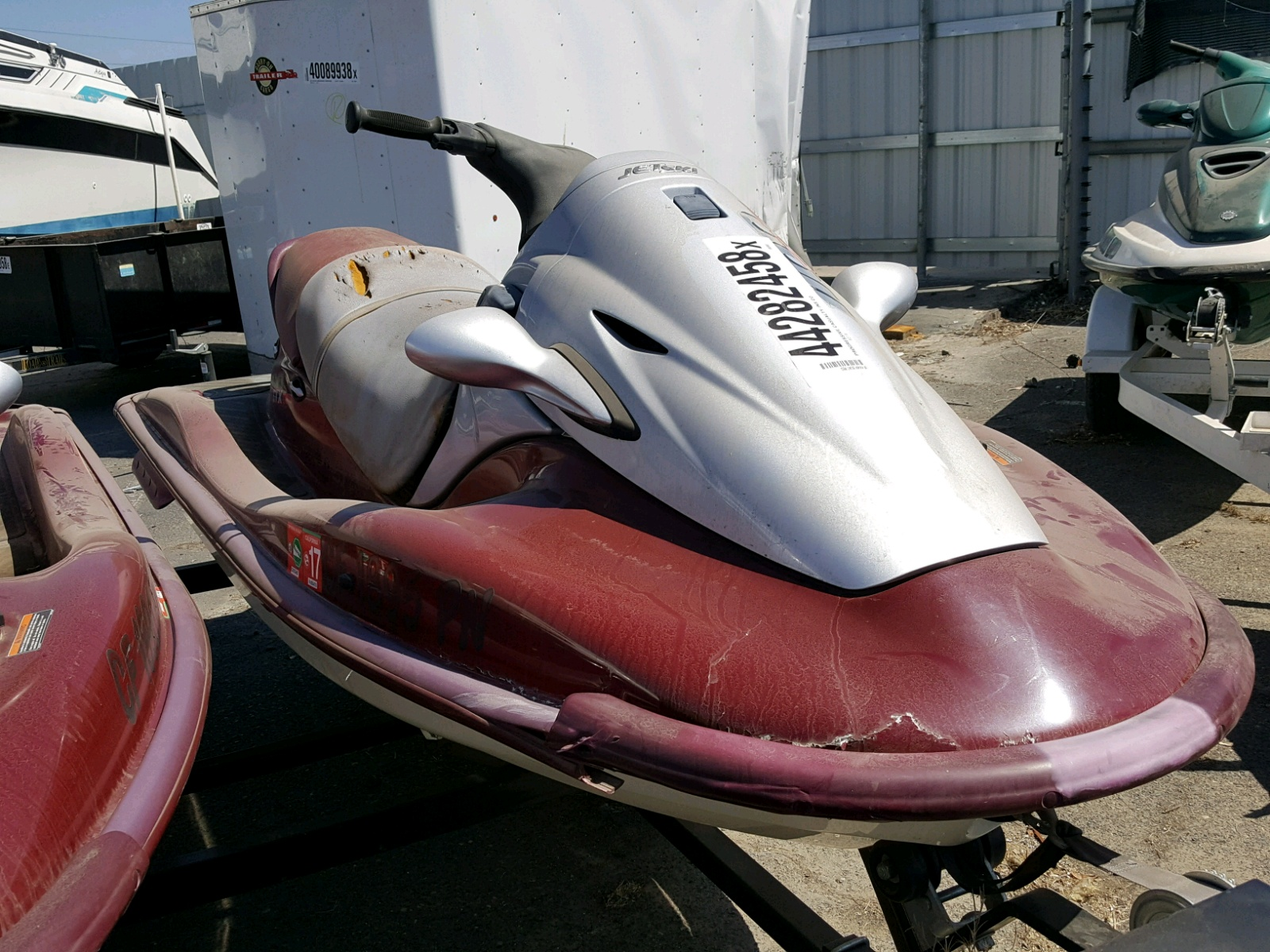 Salvage 2000 Kawasaki 1100 STX for sale