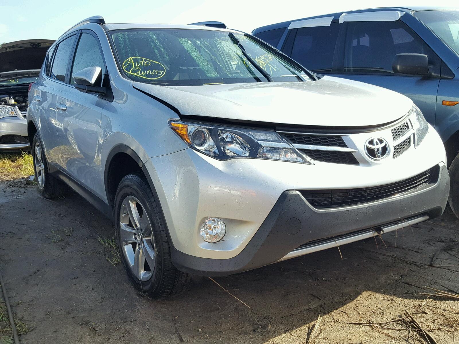 Salvage 2015 Toyota RAV4 XLE for sale