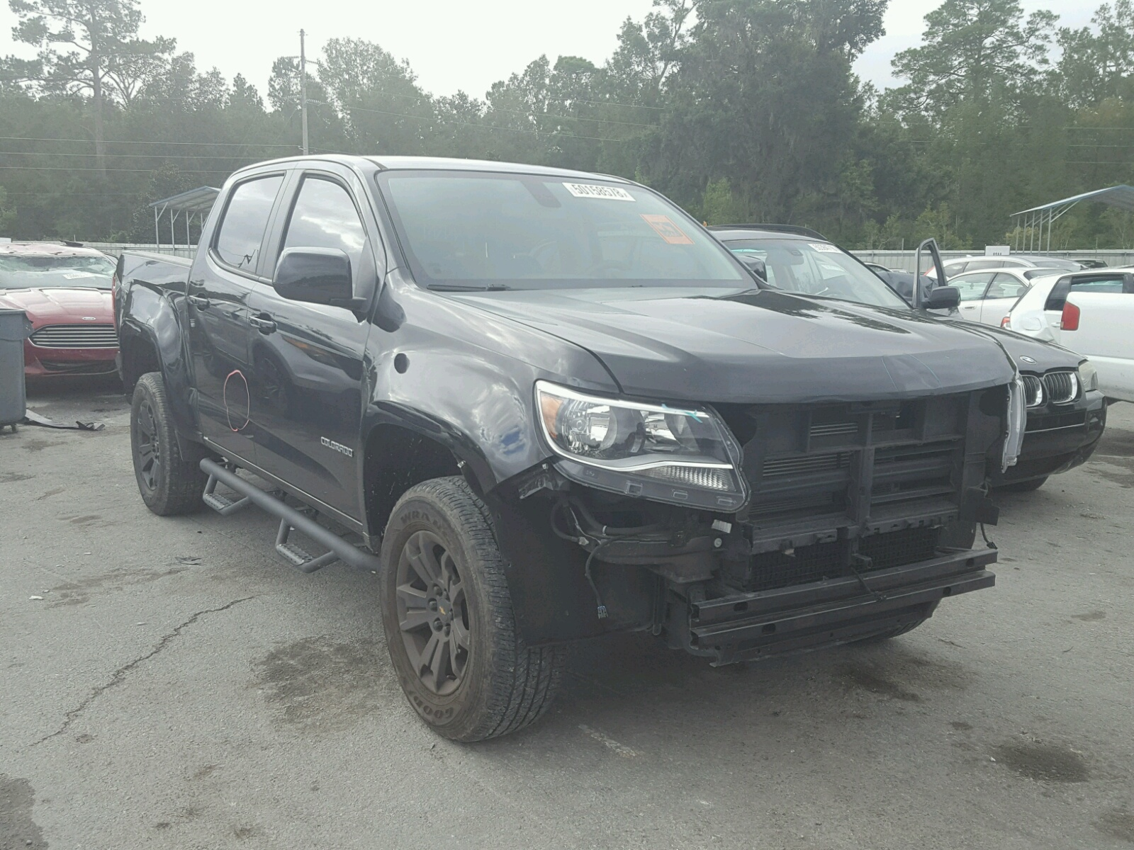 Salvage 2016 Chevrolet COLORADO L for sale
