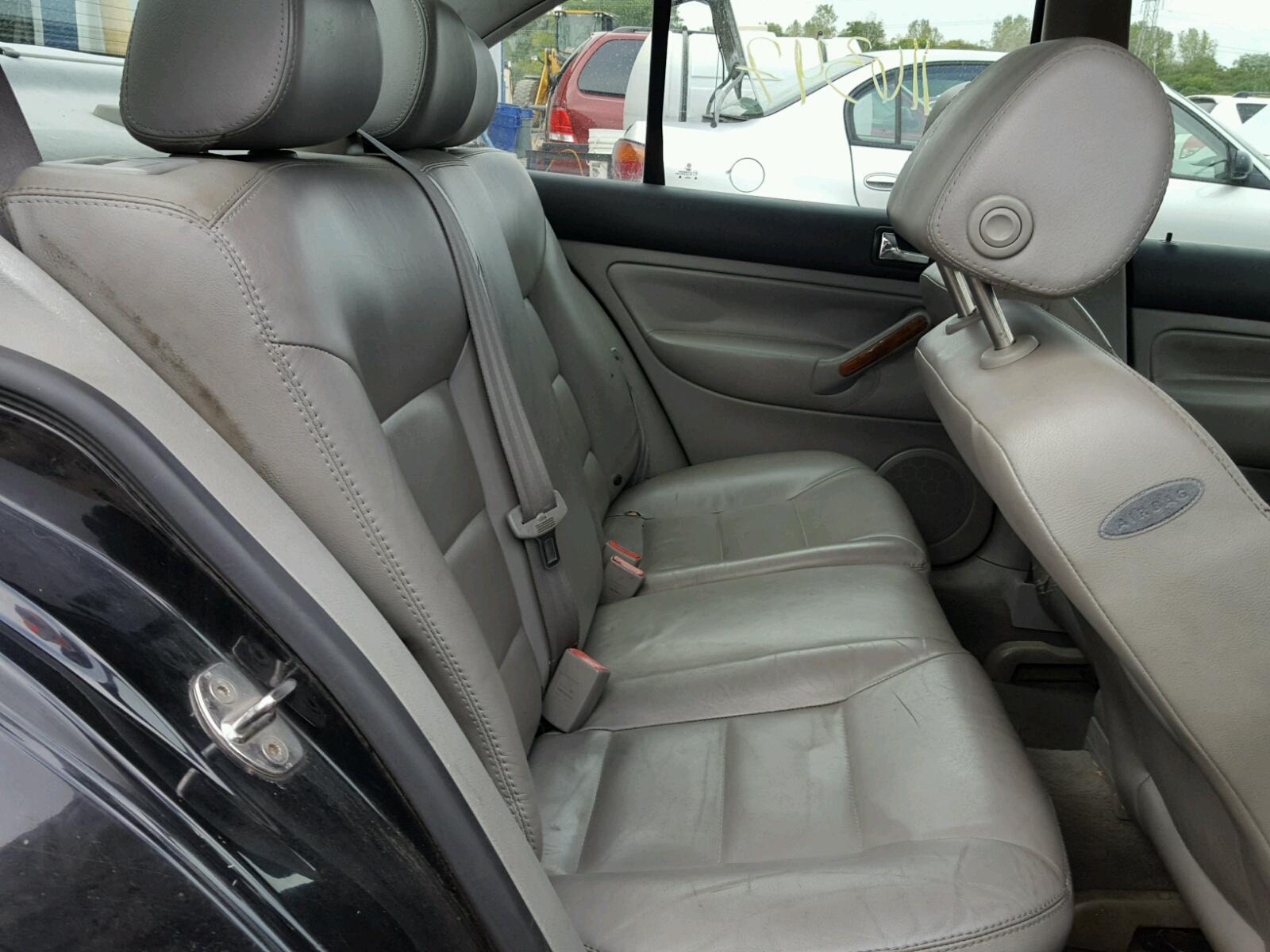 2001 Volkswagen Jetta Glx For Sale At Copart Chicago Heights Il Lot Sedan