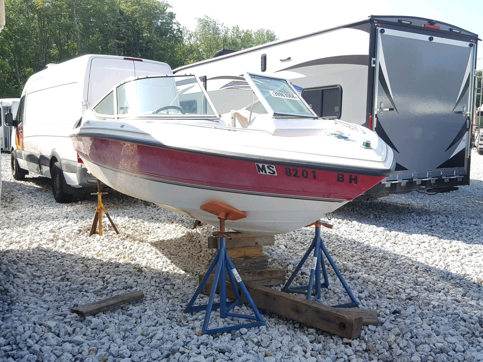 Salvage 1992 Chapparal BOAT for sale