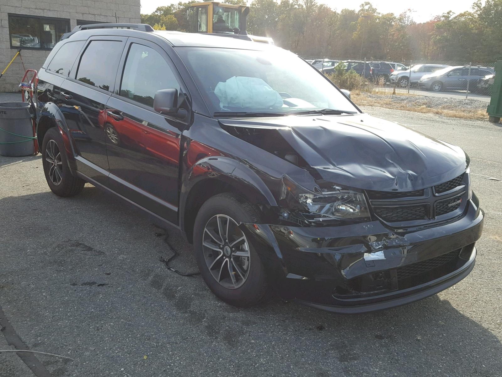 Salvage 2018 Dodge JOURNEY SE for sale