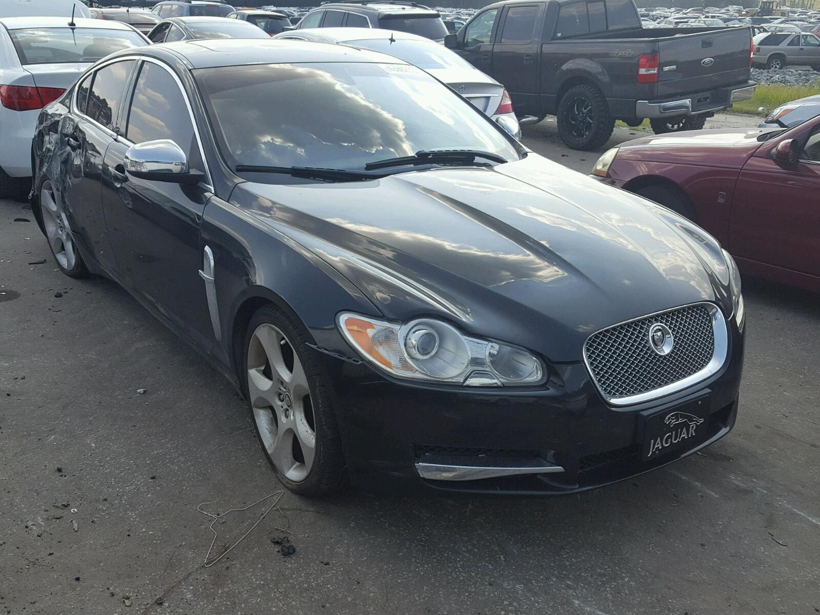 Salvage 2009 Jaguar XF SUPERCH for sale