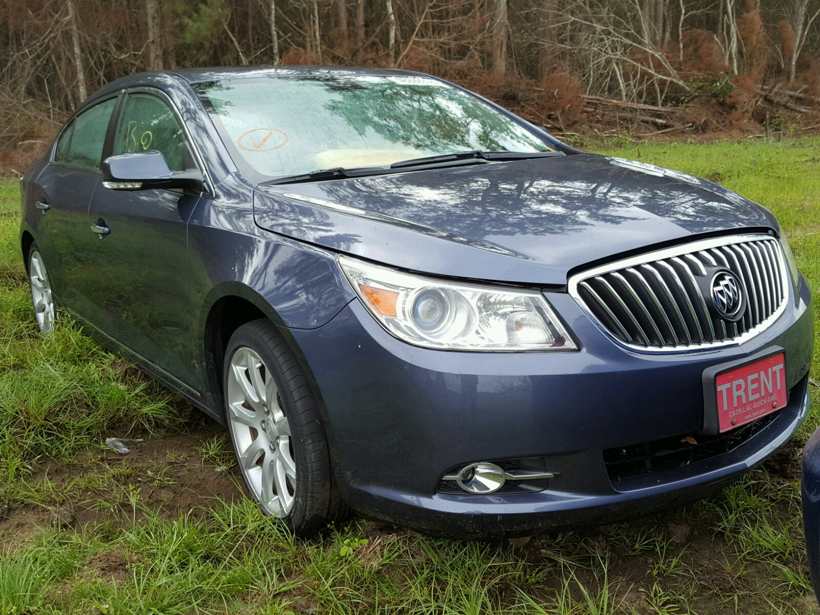 Salvage 2013 Buick LACROSSE T for sale