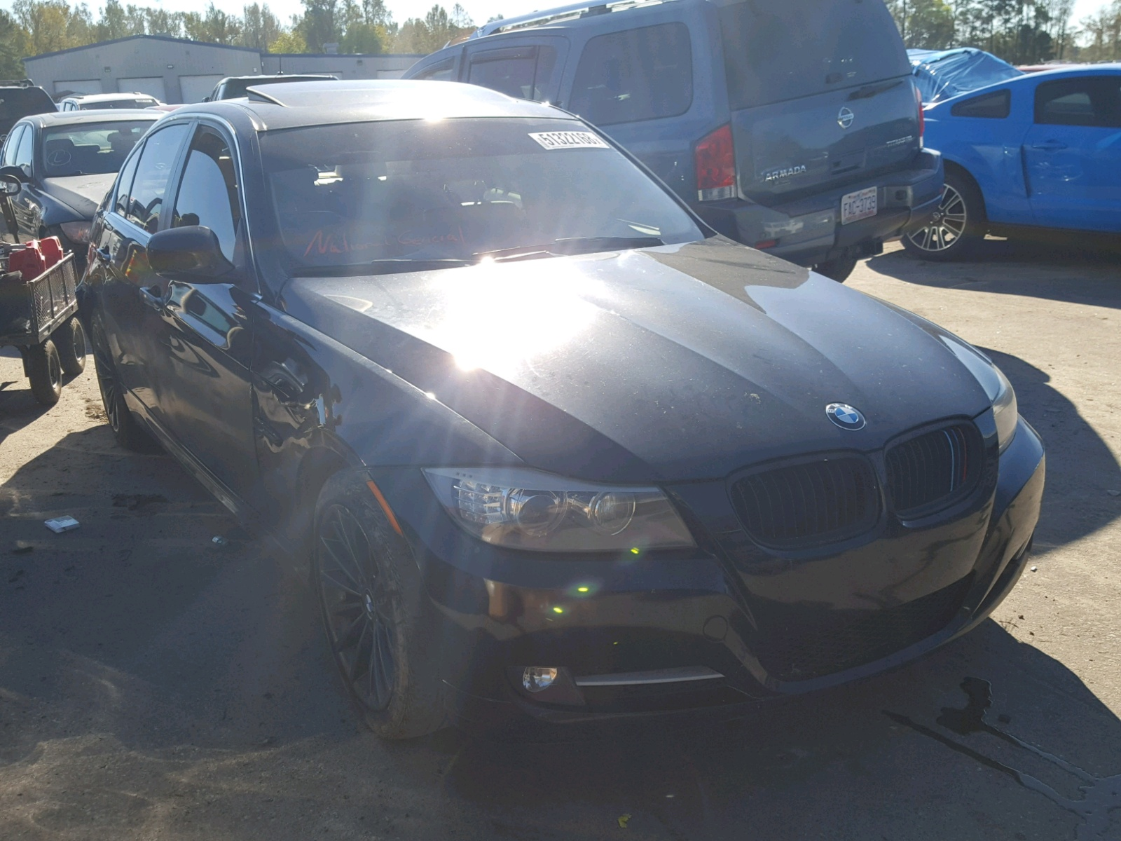 Salvage 2011 BMW 335 I for sale