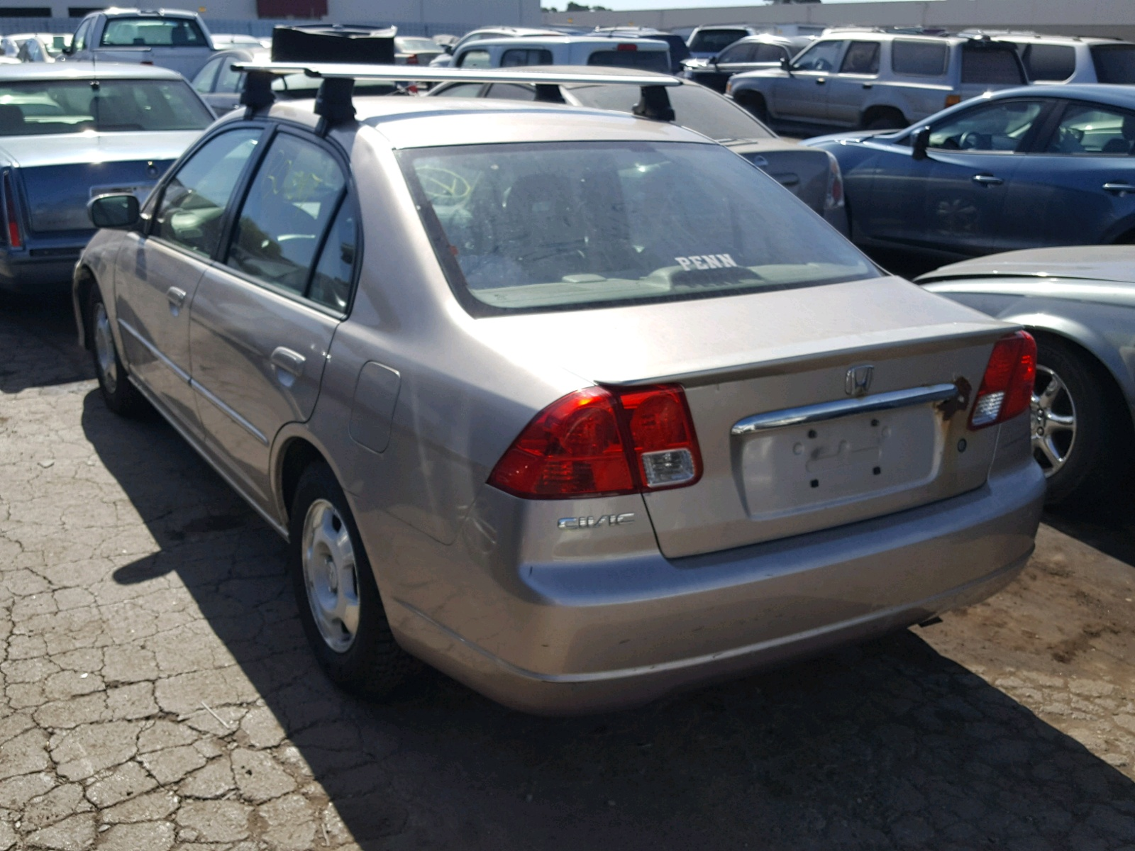 2003 Honda Civic Hybrid For Sale At Copart Hayward Ca Lot 48660828