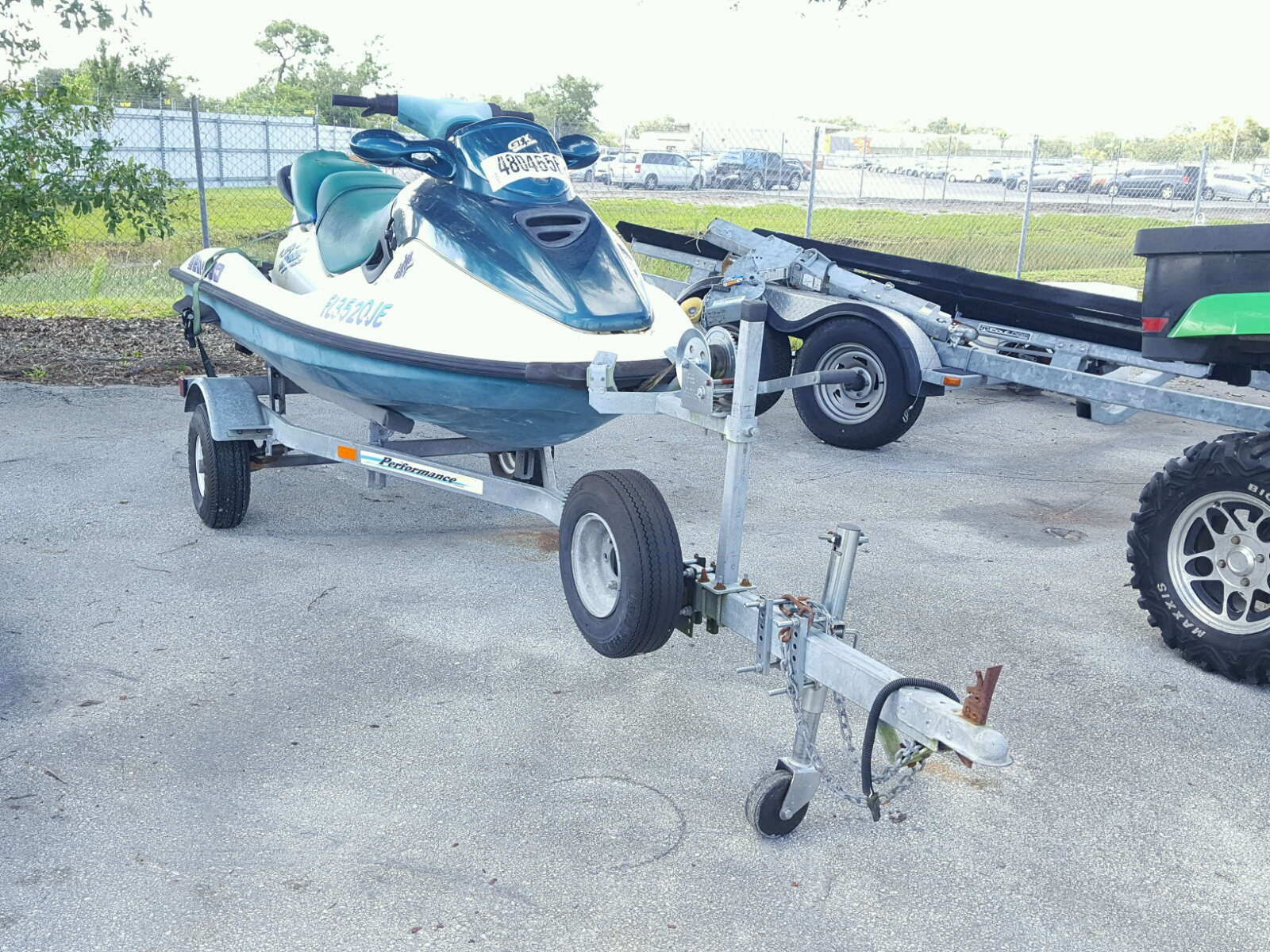 Salvage 1997 Seadoo ZZN for sale
