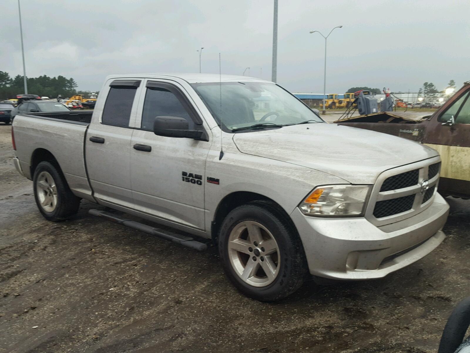 Salvage 2014 Dodge RAM 1500 ST for sale
