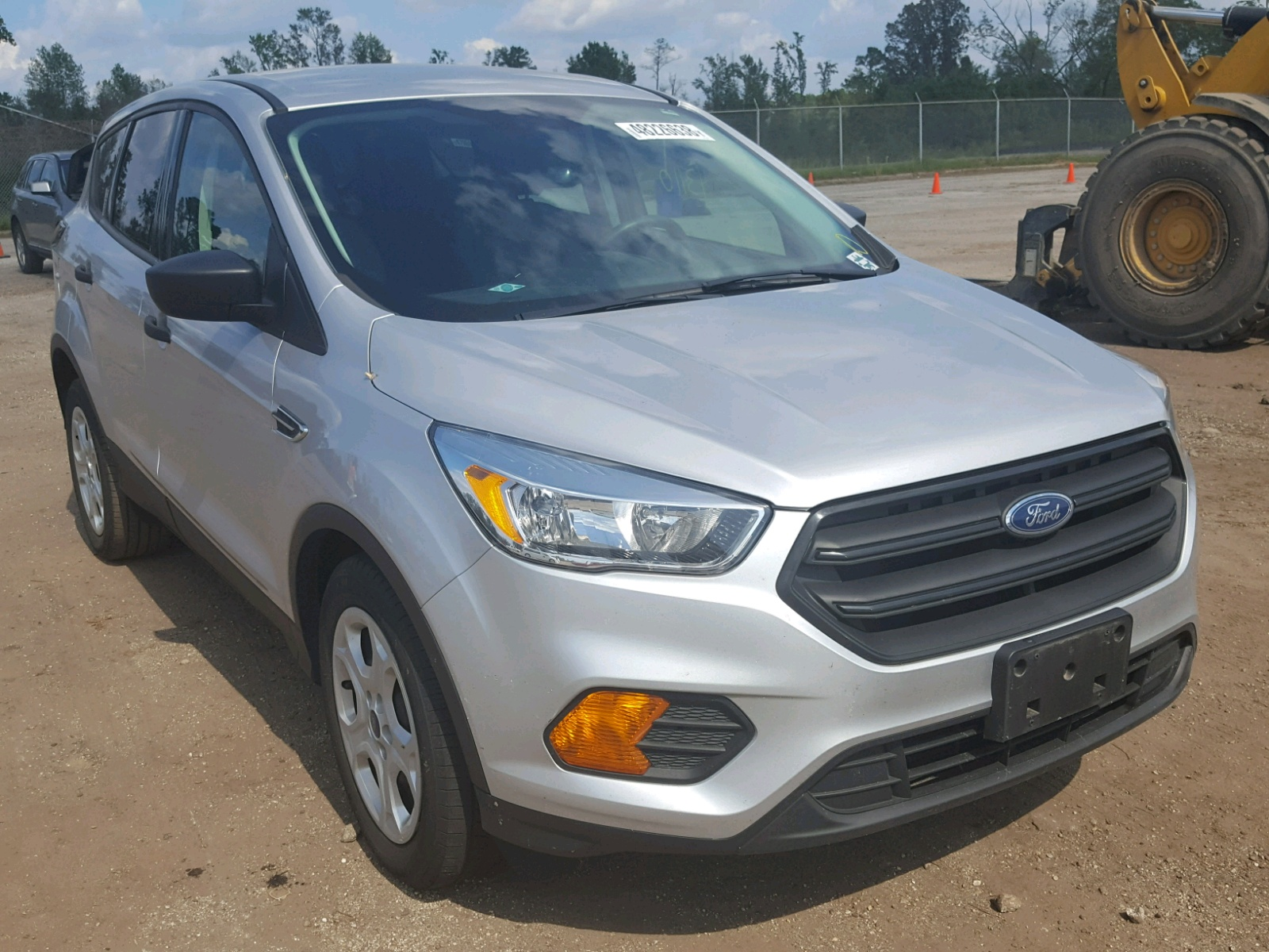 Salvage 2017 Ford ESCAPE S for sale