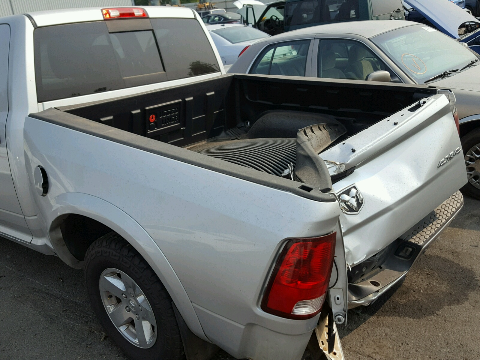 1c6rd7lt1cs327825 2012 Silver Dodge Ram 1500 S On Sale In Or Engine 57l View