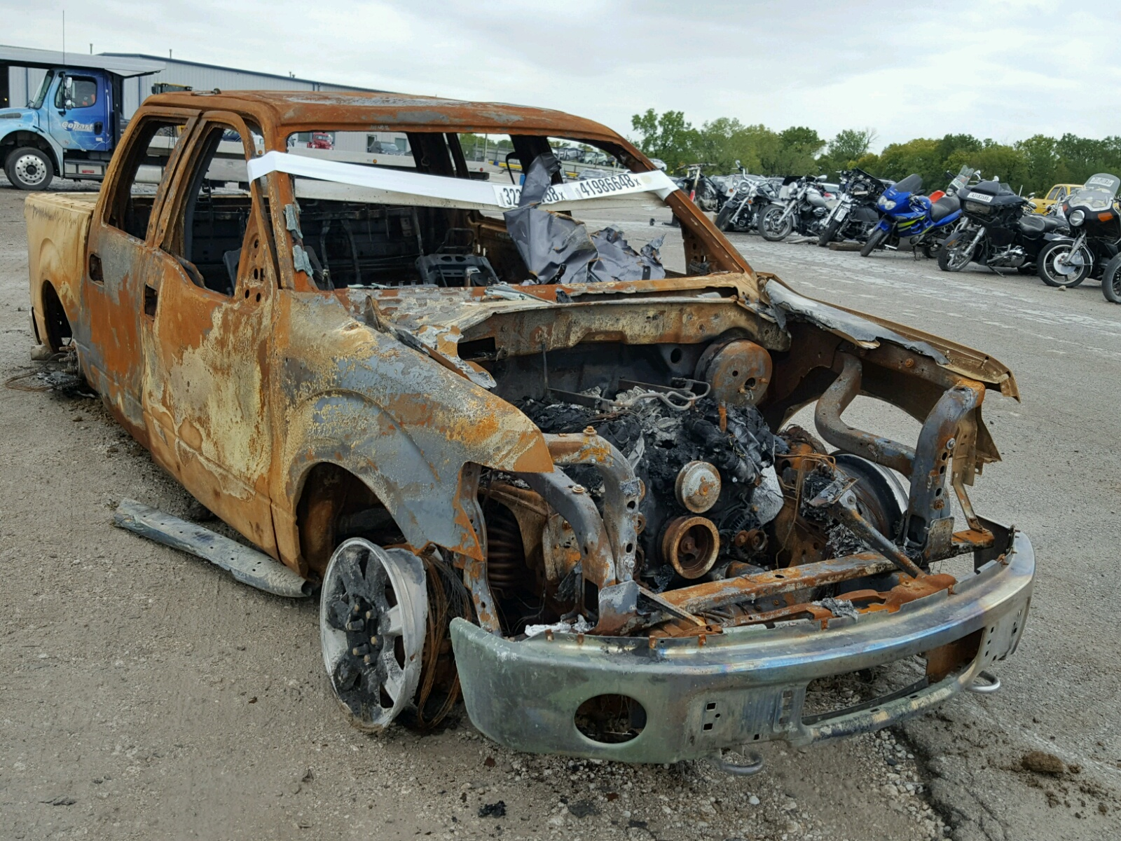 Salvage 2013 Ford F150 SUPER for sale