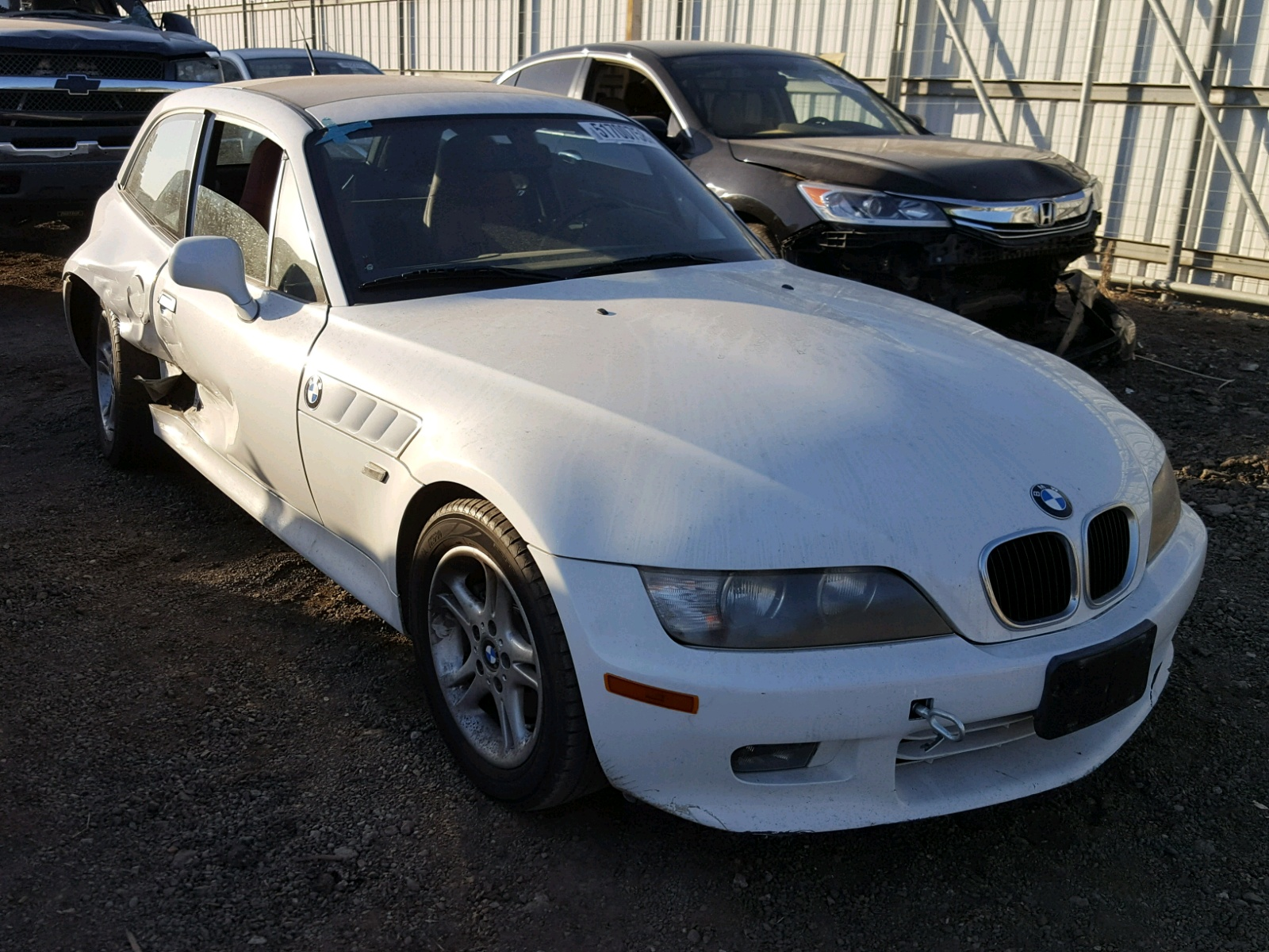 2000 Bmw Z3 28 28L 6 In CA San Diego 4USCK5342YLE95778 For