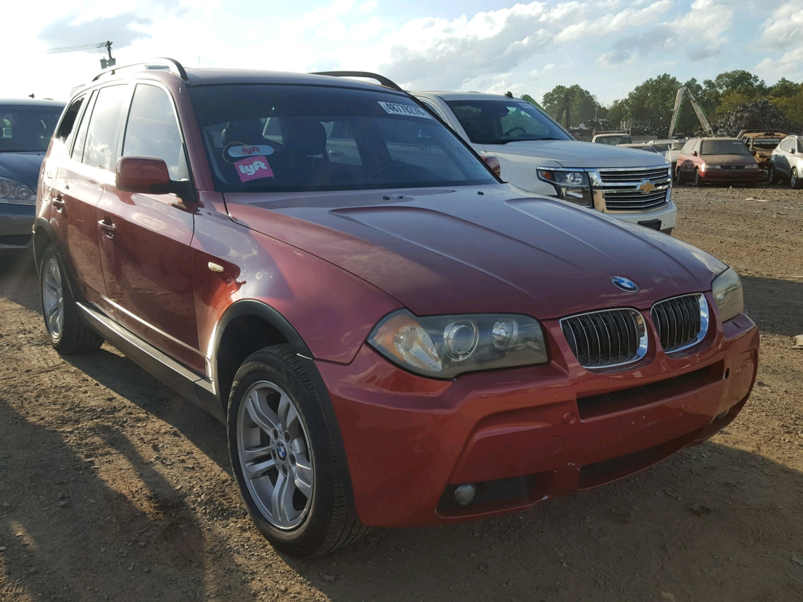 Salvage 2006 BMW X3 3.0I for sale