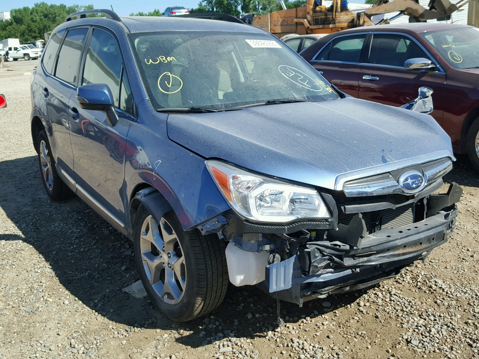 2015 Subaru Forester 2 for sale at Copart Des Moines IA Lot