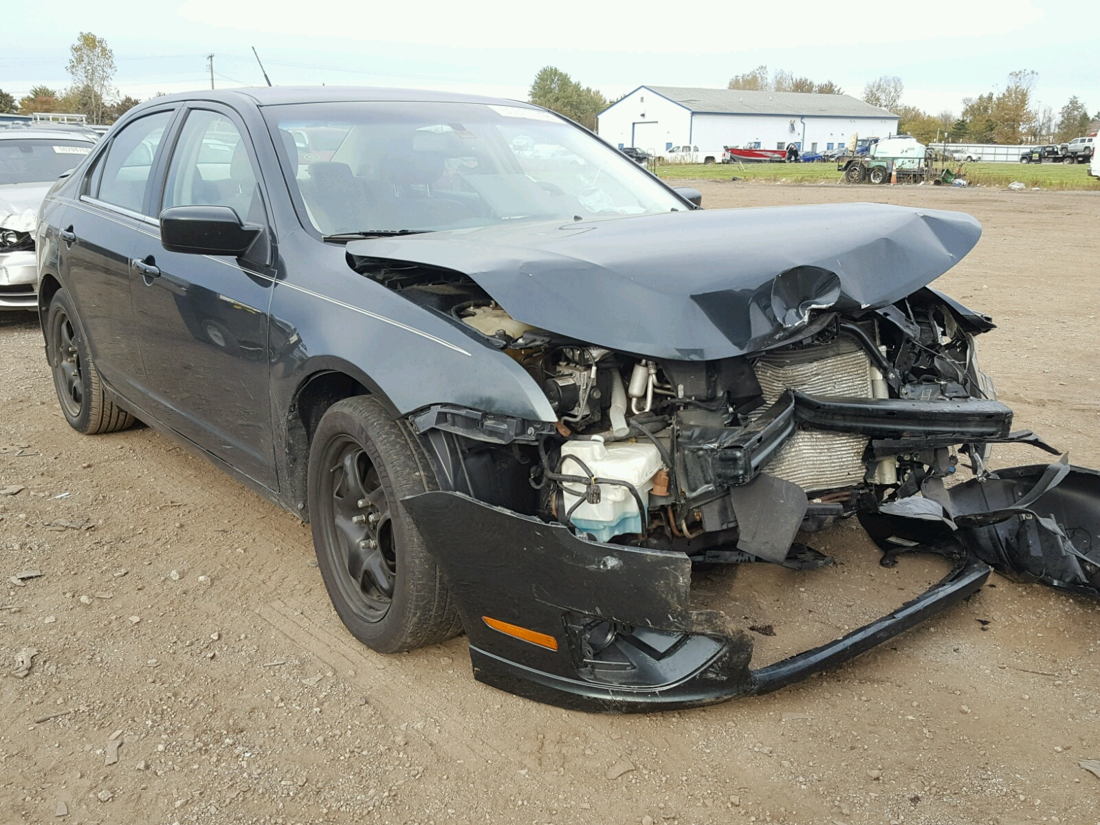 Salvage 2010 Ford FUSION SE for sale