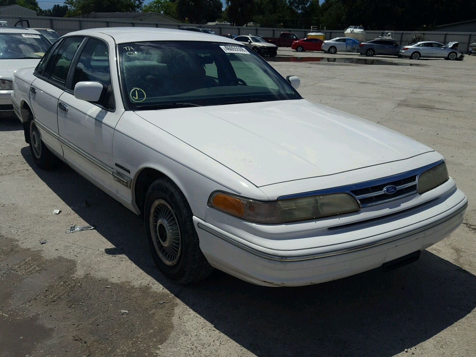 1995 Ford Crown Victoria Vict For Sale At Copart Punta Gorda Fl Lot 46055508