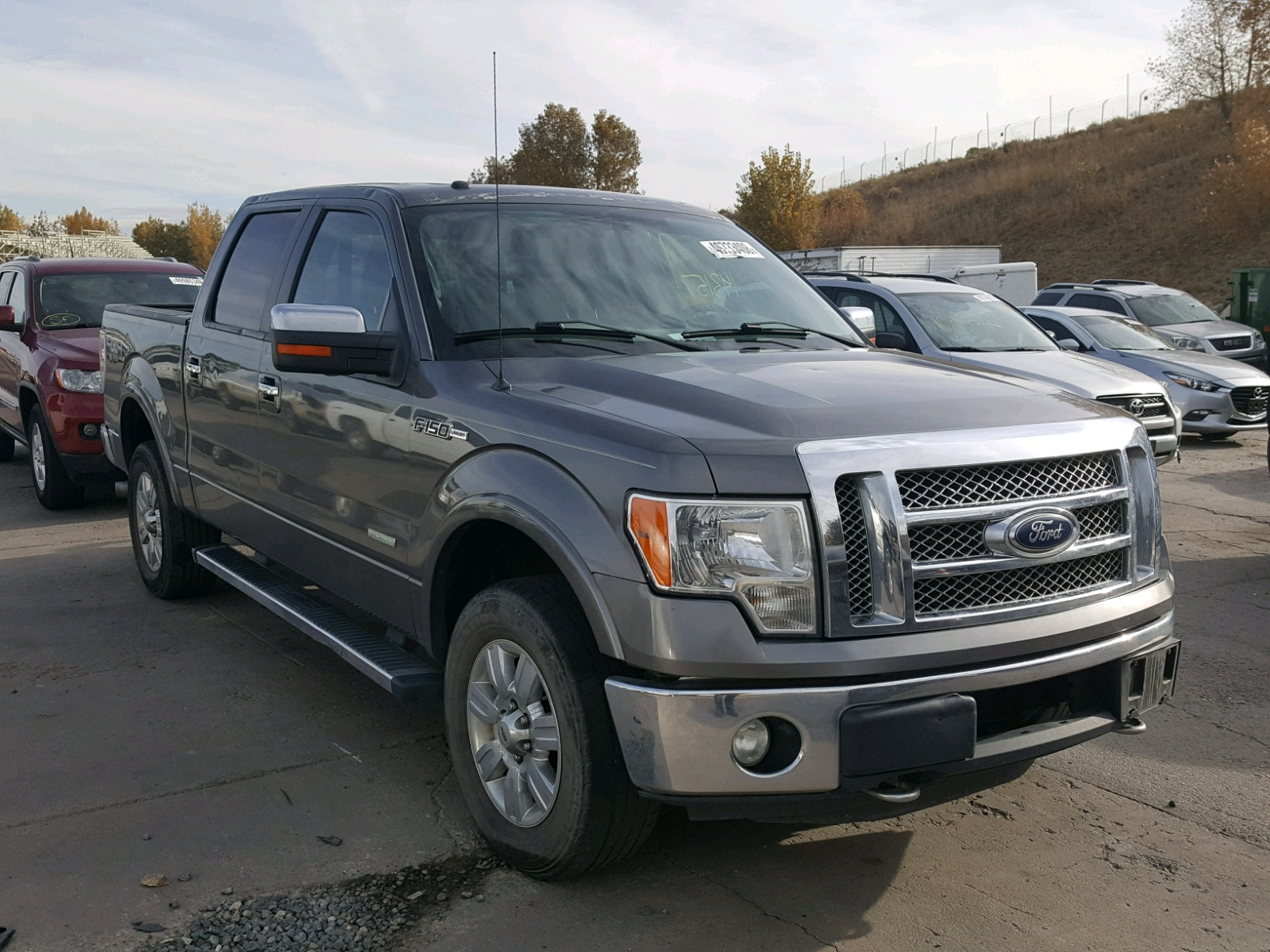 Salvage 2011 Ford F150 SUPER for sale