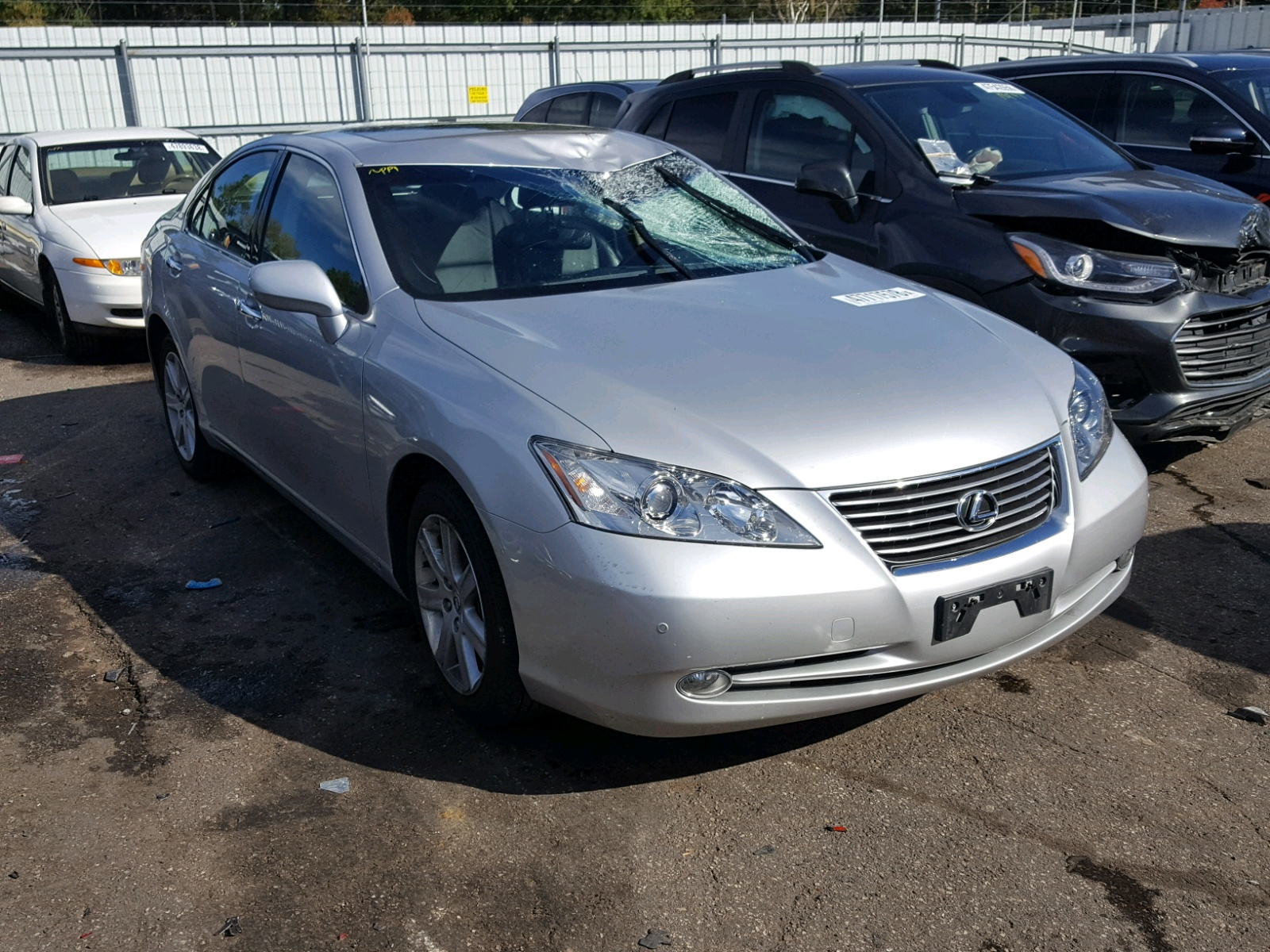 Salvage 2009 Lexus ES 350 for sale