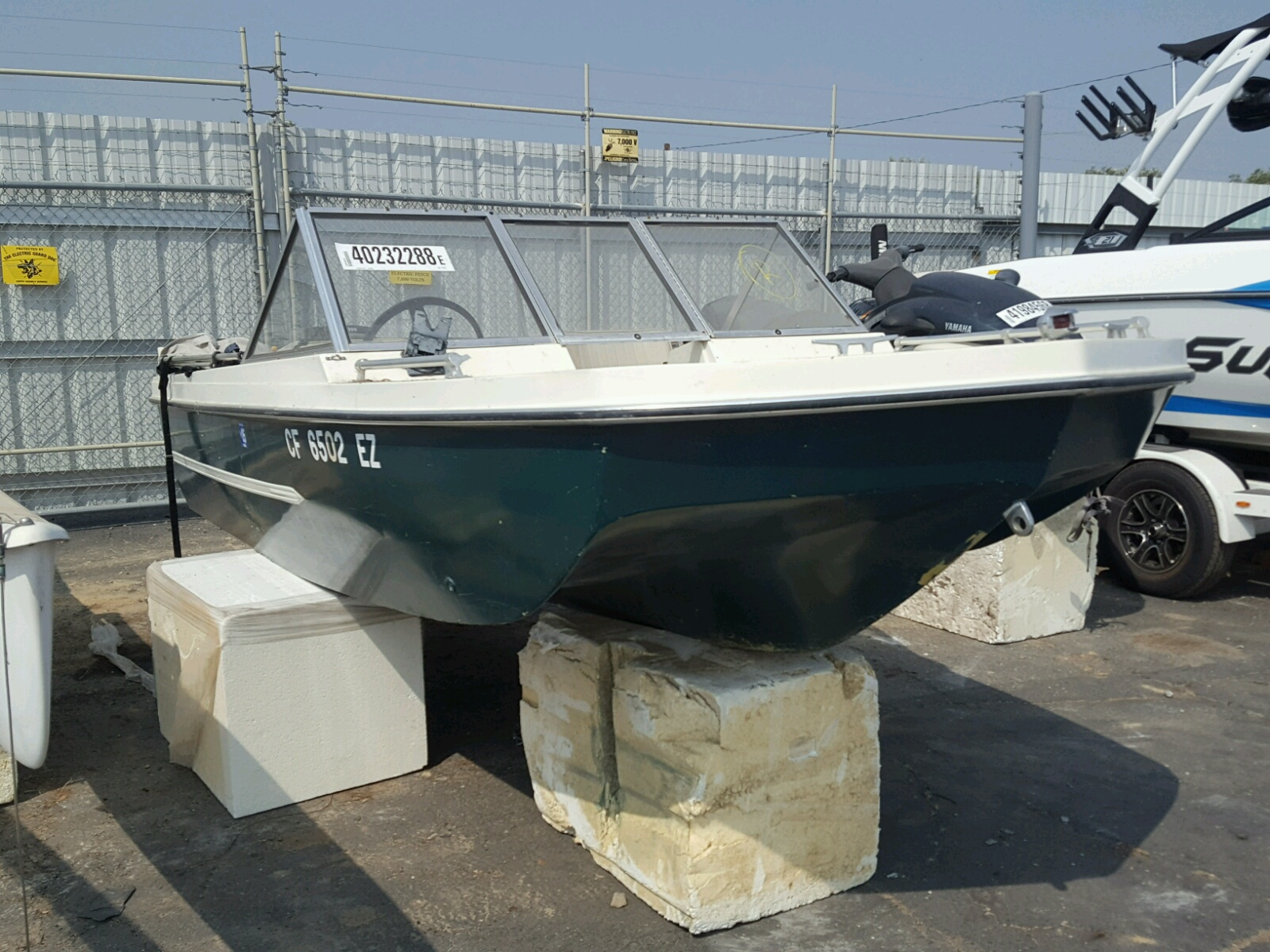 Salvage 1972 Hydc BOAT for sale