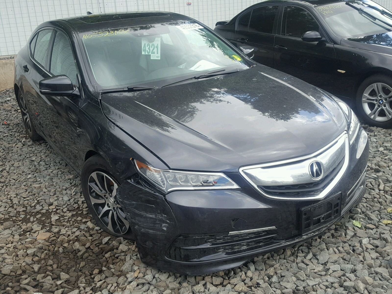 Salvage 2015 Acura TLX TECH for sale