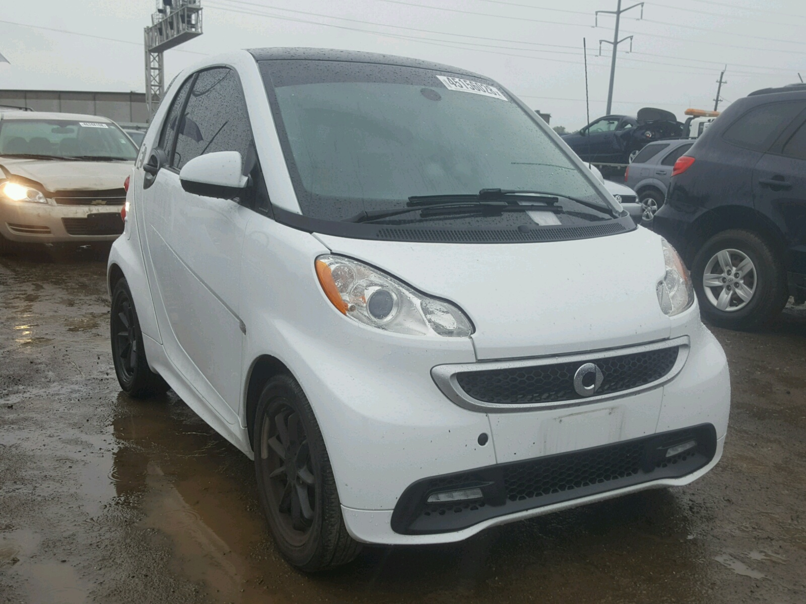 Salvage 2015 Smart FORTWO ELE for sale