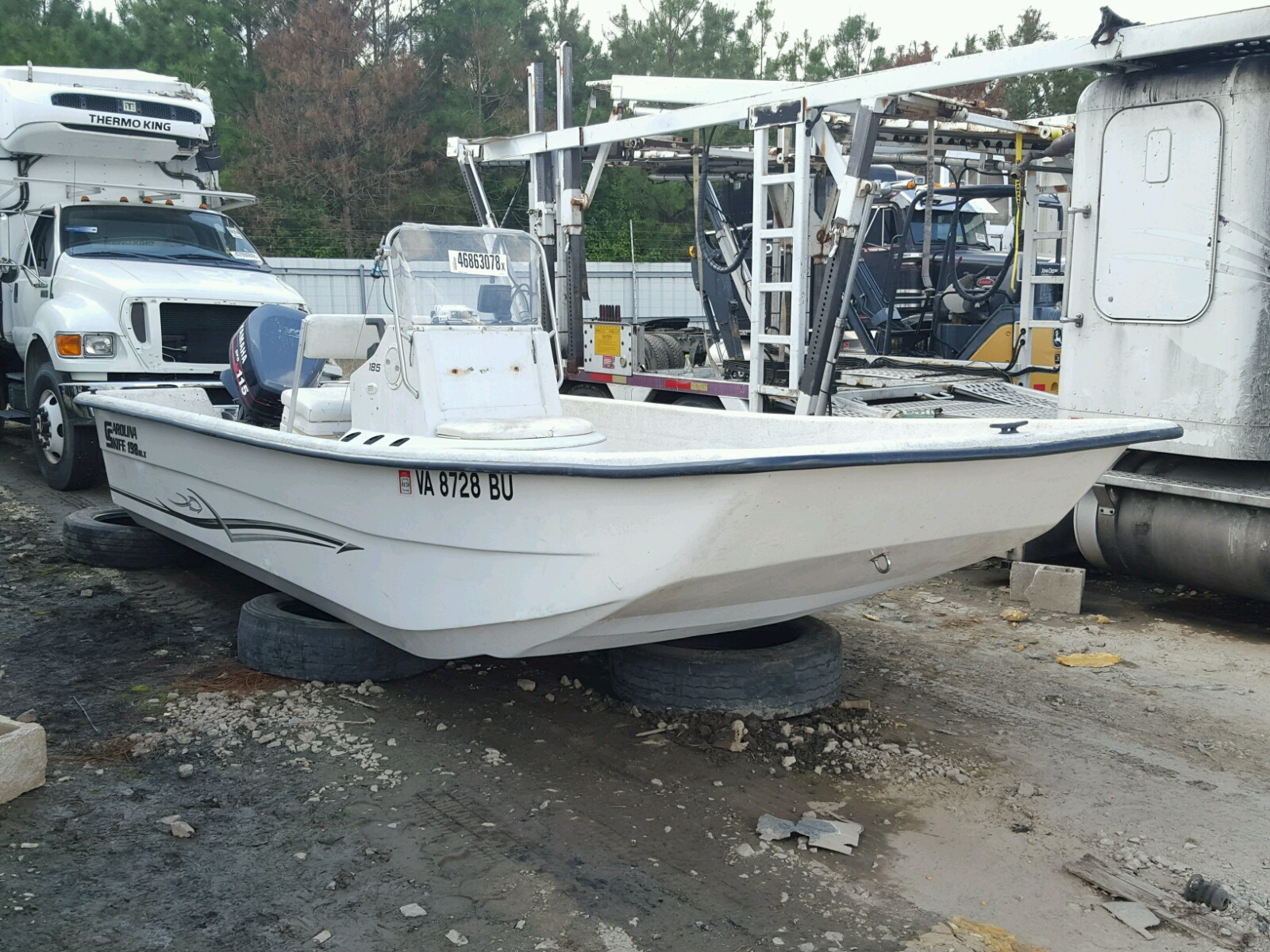 Salvage 2014 Carson BOAT for sale