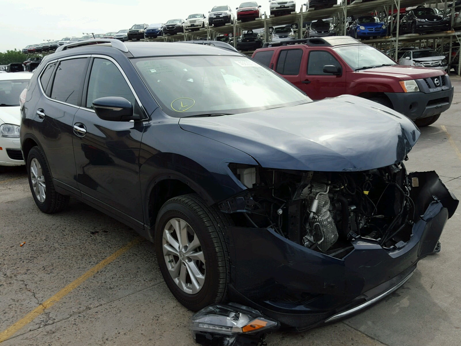 Salvage 2015 Nissan ROGUE S for sale