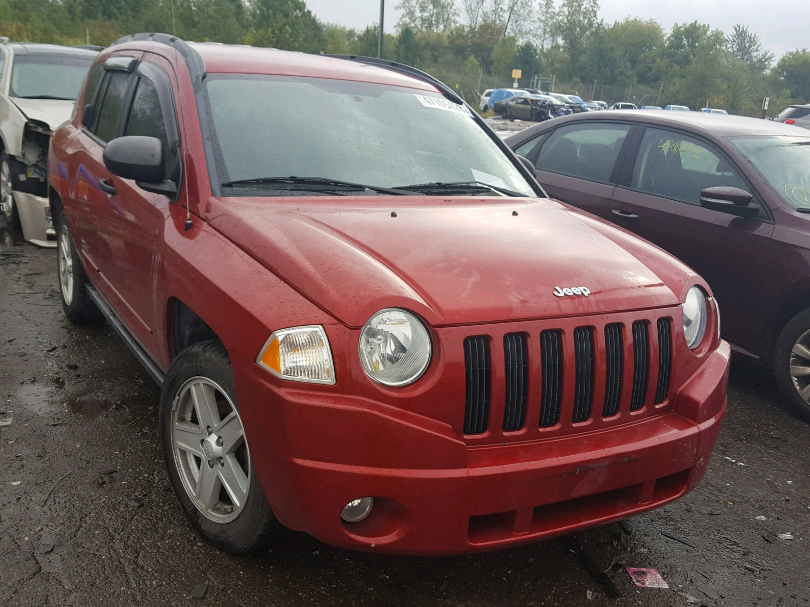 Salvage 2009 Jeep COMPASS SP for sale