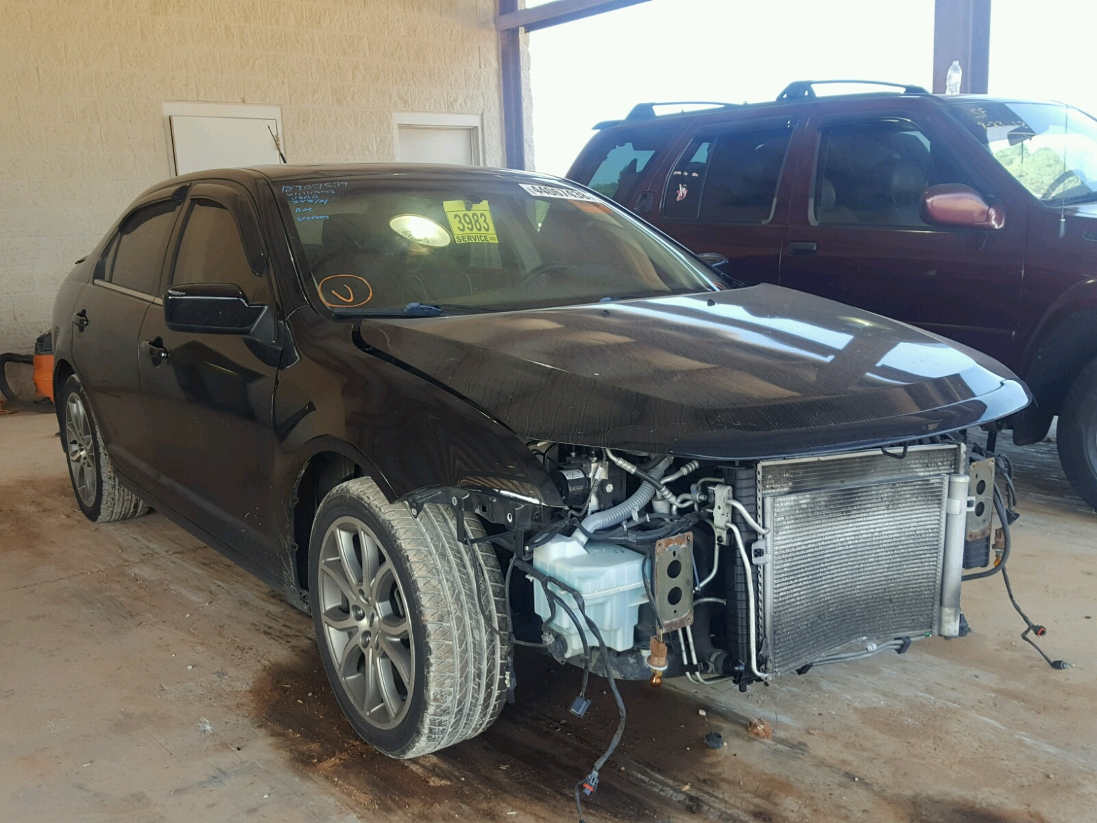Salvage 2011 Ford FUSION SE for sale