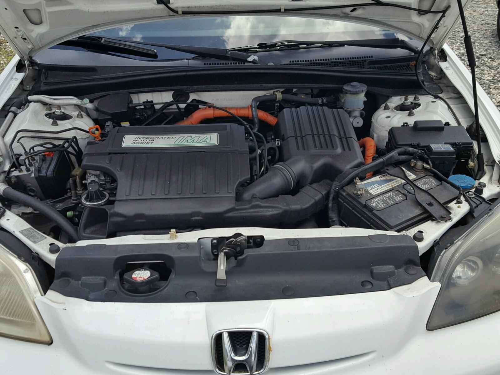 2003 Honda Civic Hybrid For Sale At Copart Miami Fl Lot 47070198