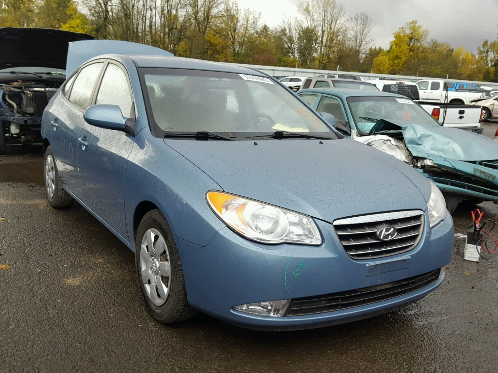 Salvage 2007 Hyundai ELANTRA GL for sale