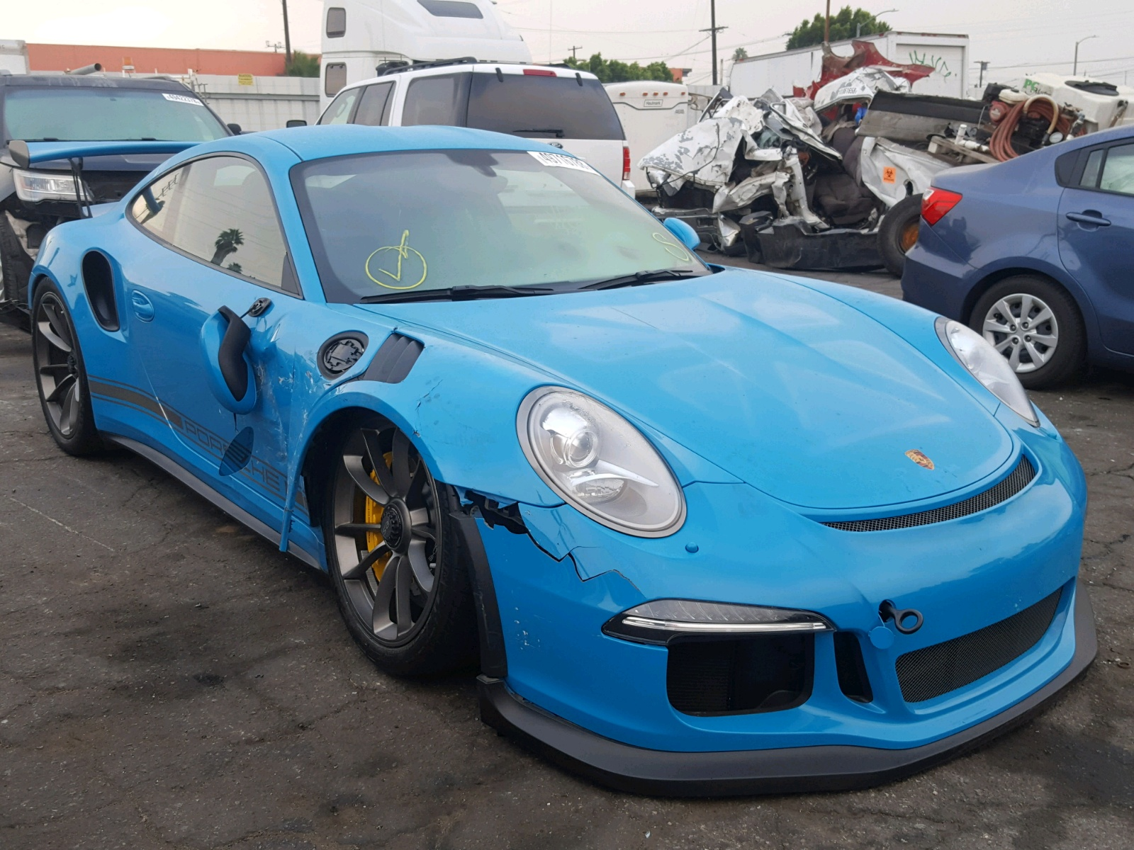 Salvage 2016 Porsche 911 GT3 RS for sale