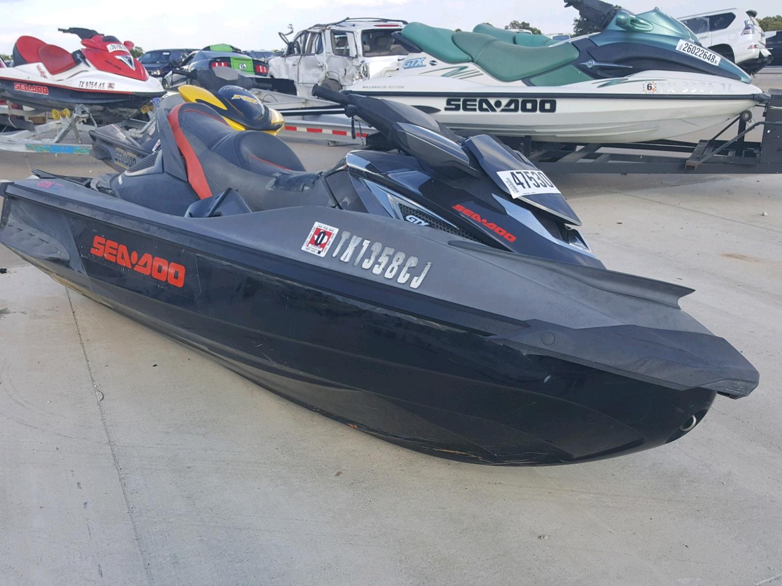 Salvage 2013 Seadoo GTX for sale