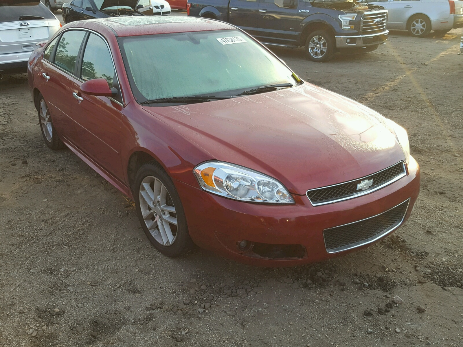 Salvage 2013 Chevrolet IMPALA LTZ for sale