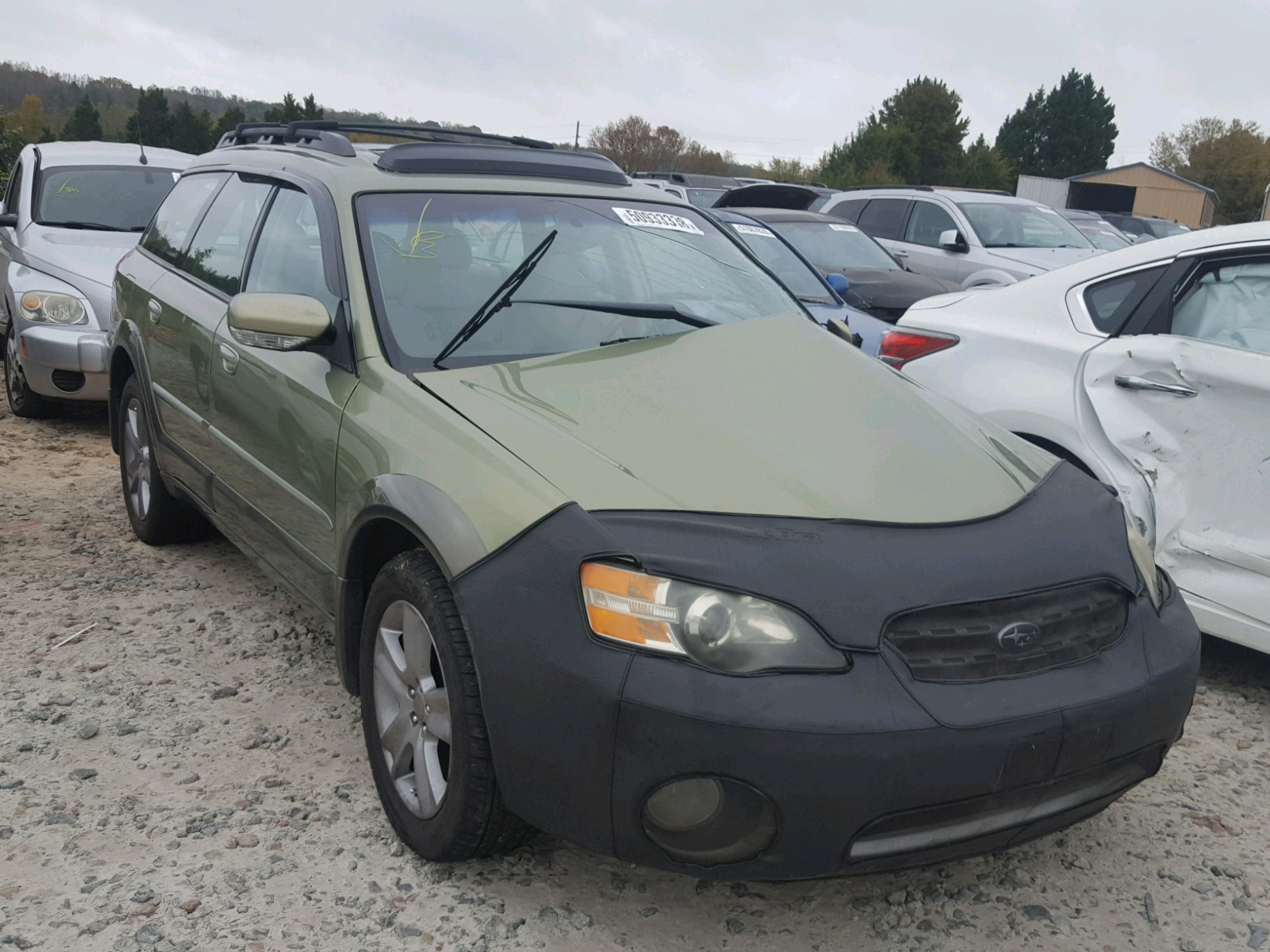 Salvage 2005 Subaru LEGACY OUTBACK for sale