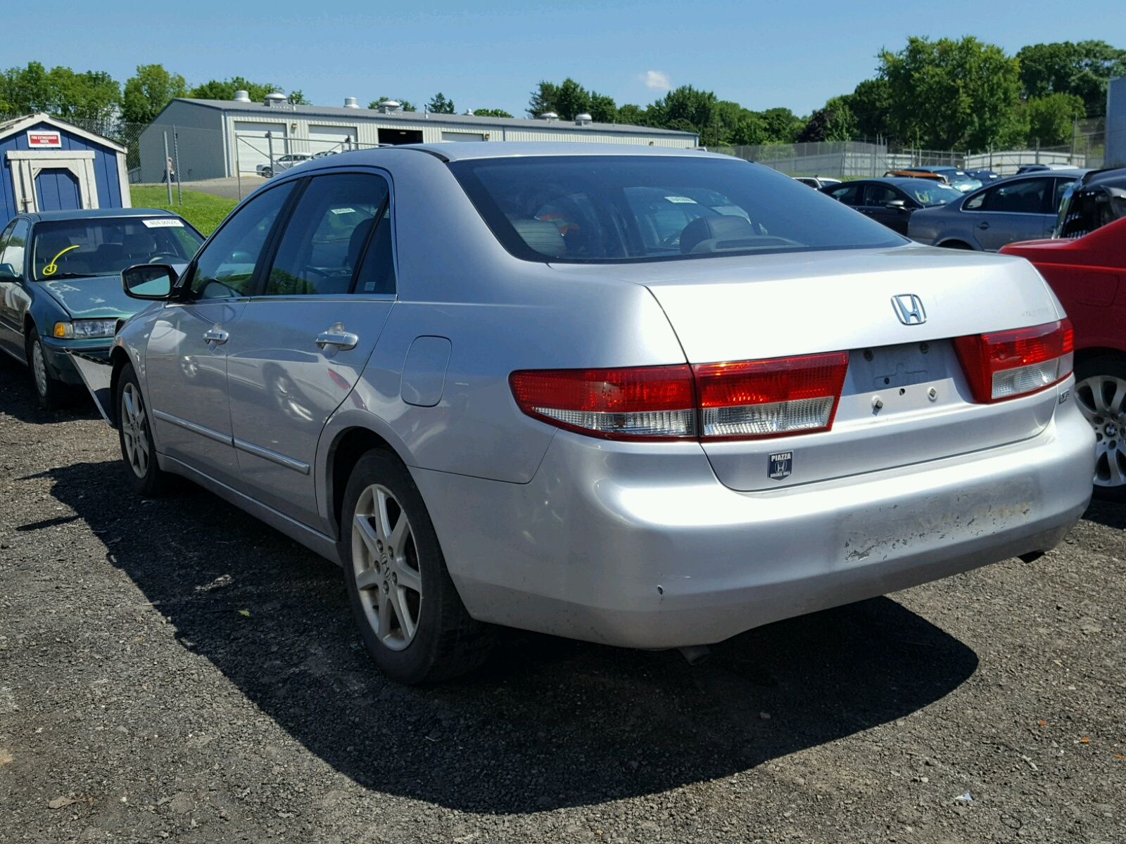 1hgcm66563a031261 2003 Silver Honda Accord Ex On Sale In Pa Tail Light 30l Angle View
