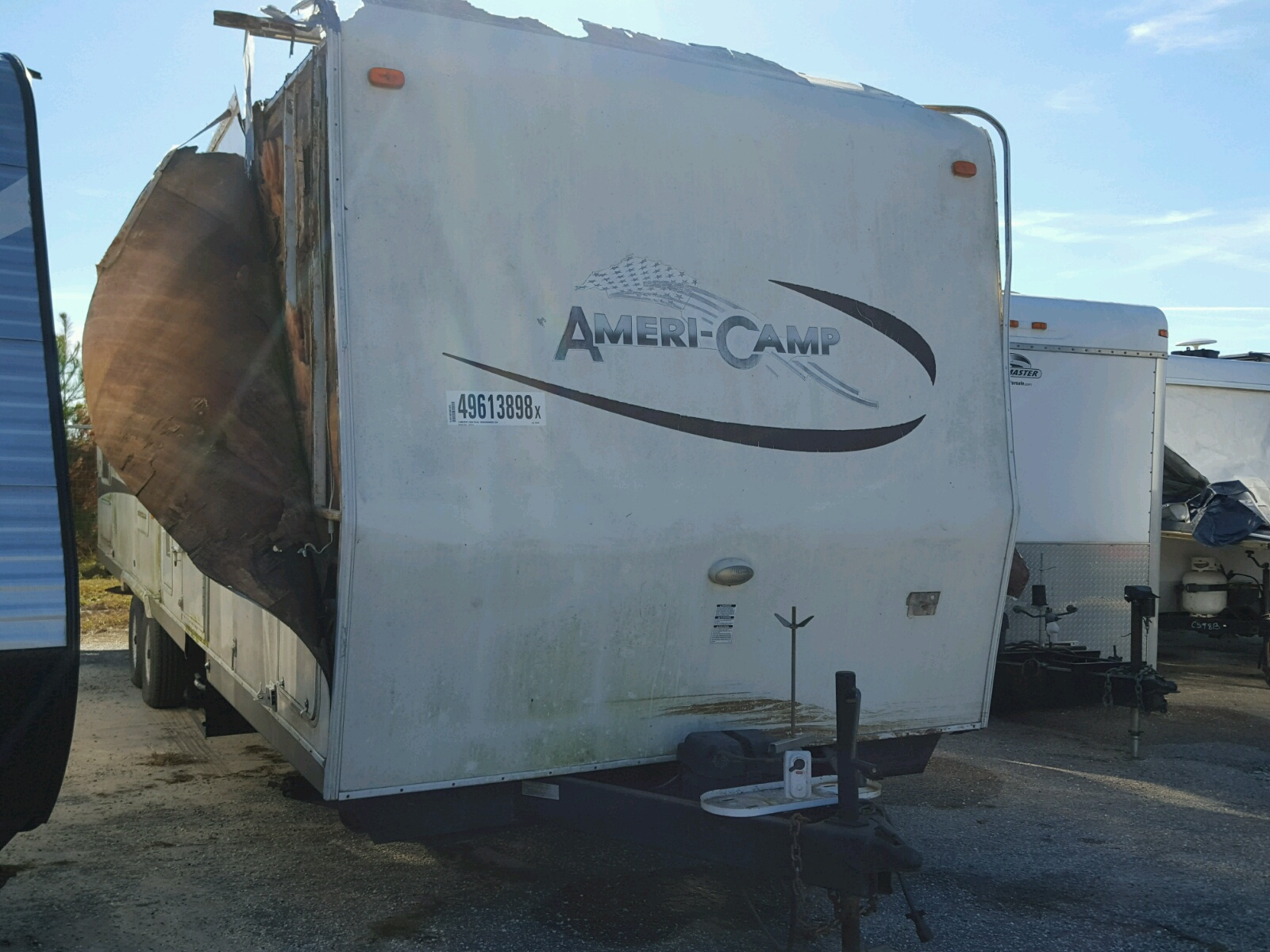 Salvage 2004 Camp CAMPER for sale