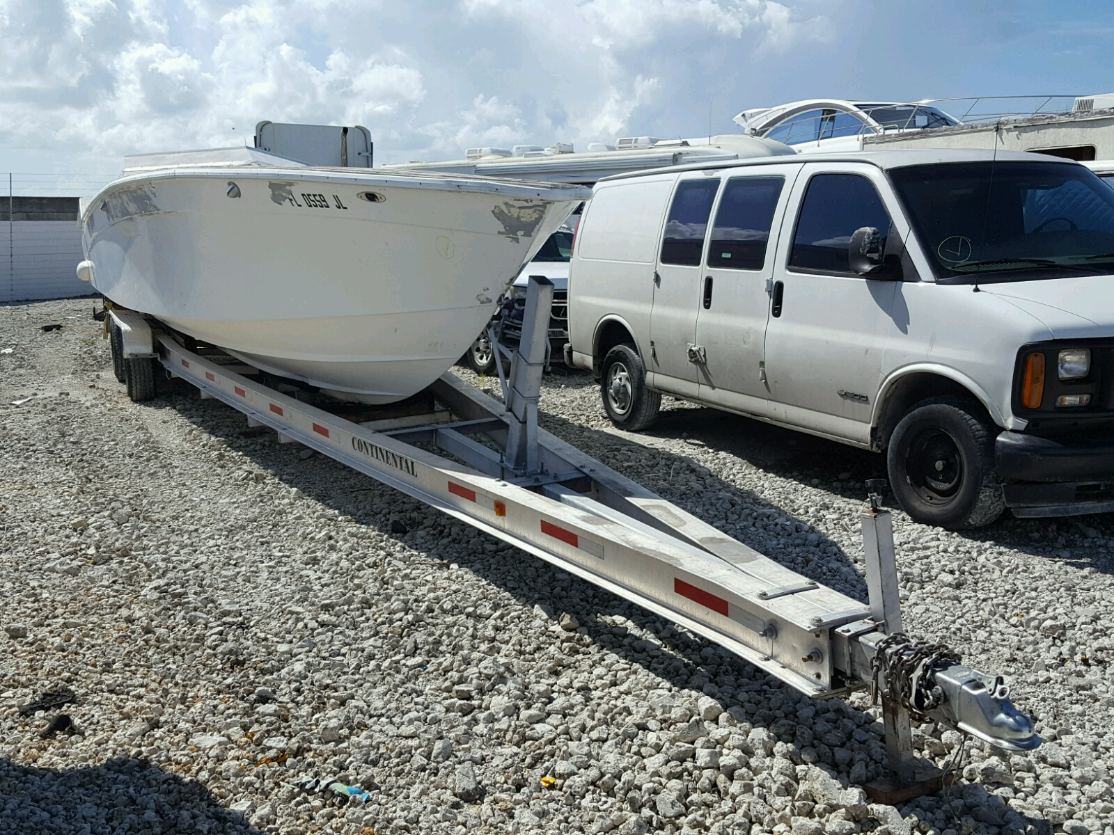Salvage 1978 Boat ONLY for sale
