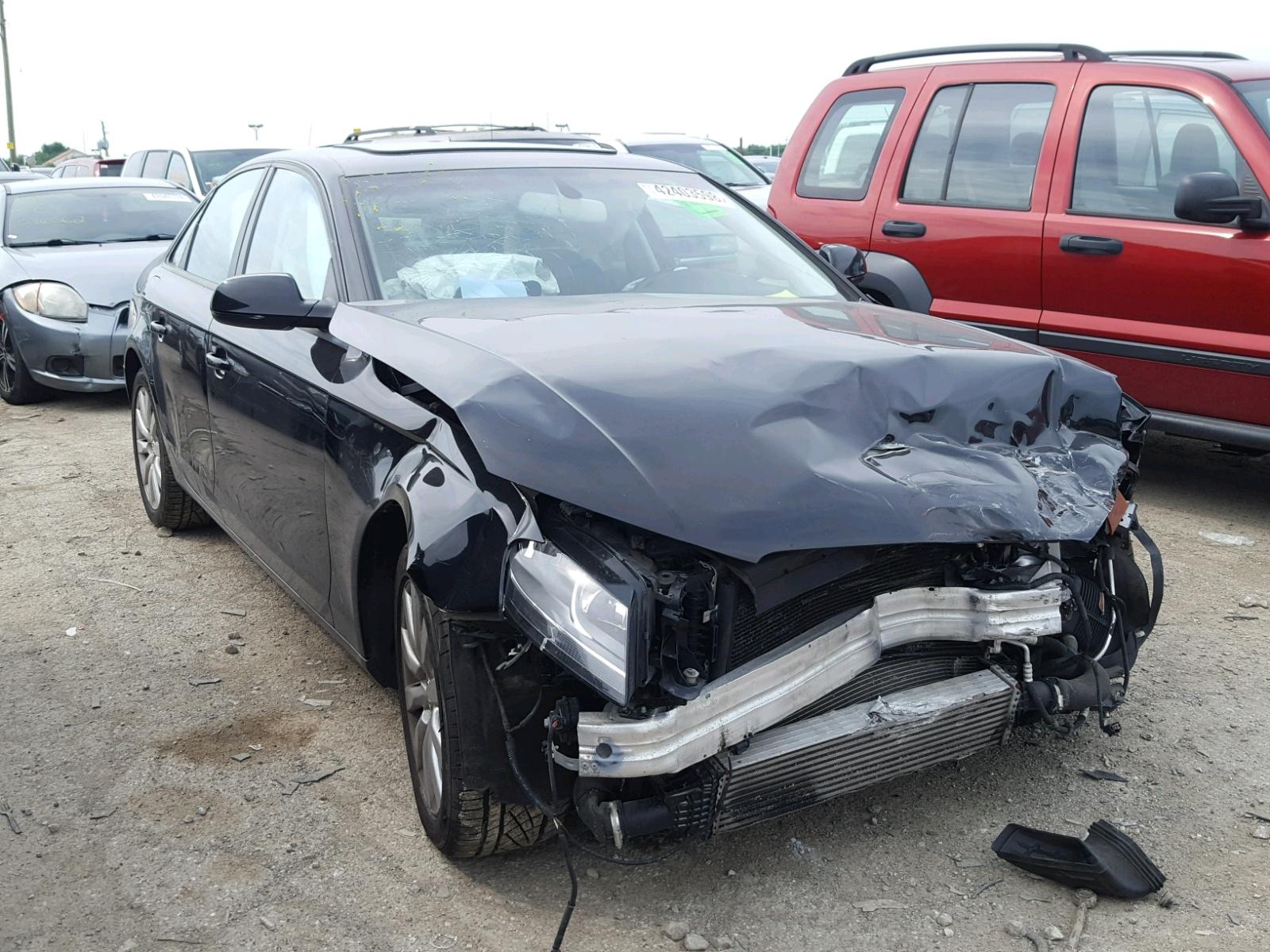 Salvage 2012 Audi A4 PREMIUM for sale