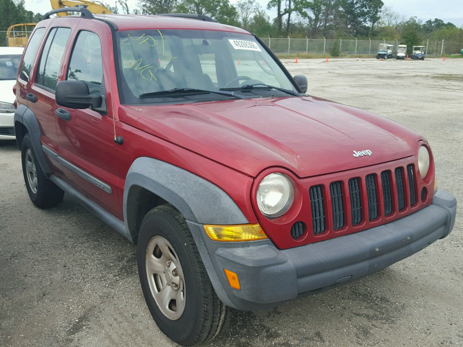 Salvage 2007 Jeep LIBERTY SP for sale